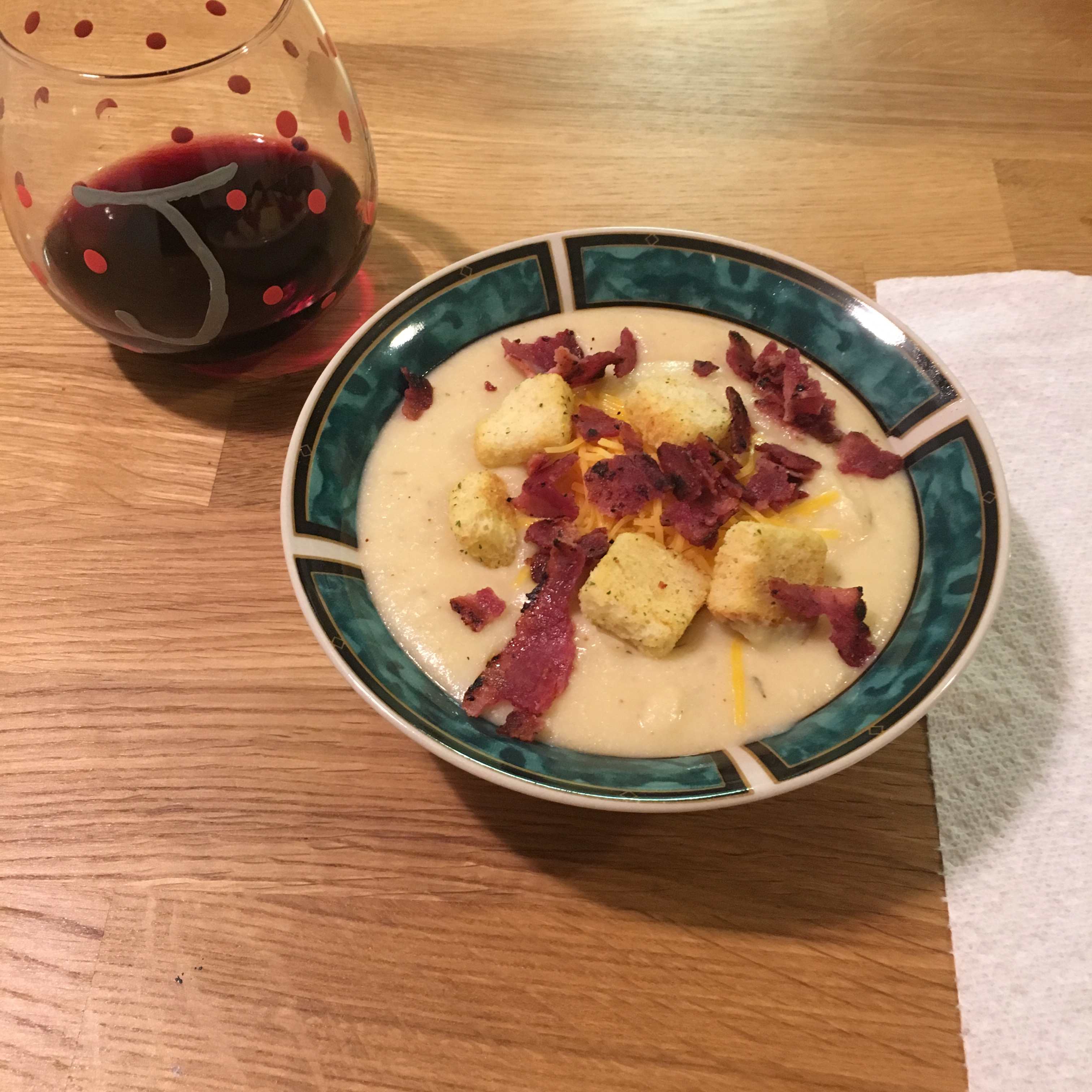 Fabulous Roasted Cauliflower Soup