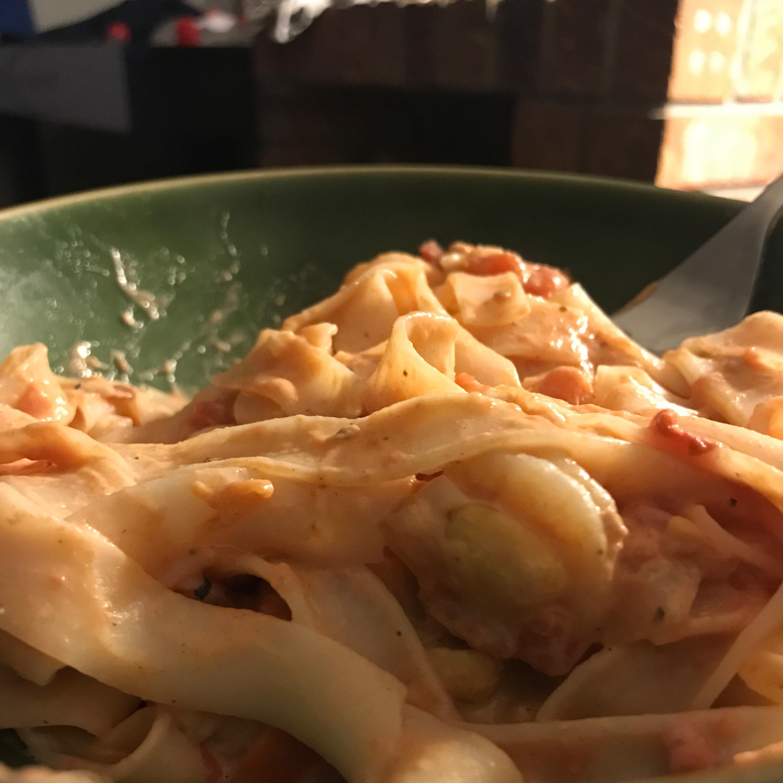 Spicy Peanut Shrimp Rice Noodles Lauren Tonge
