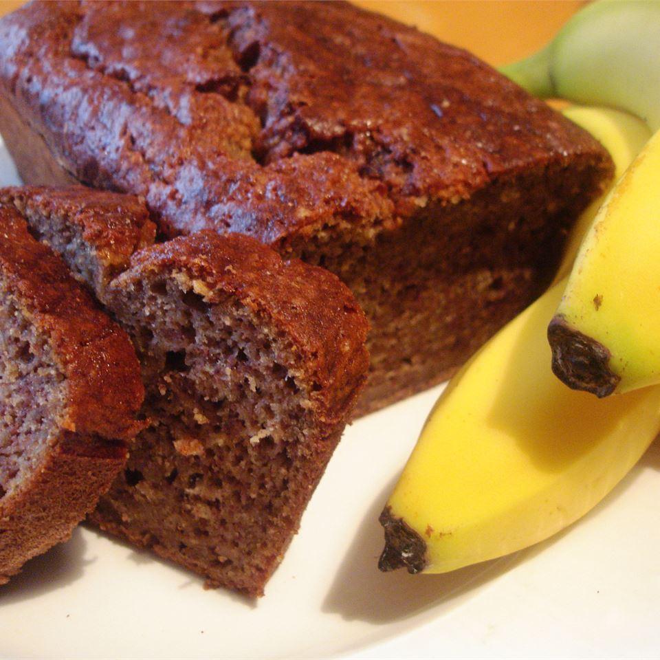 Lower Fat Banana Bread I