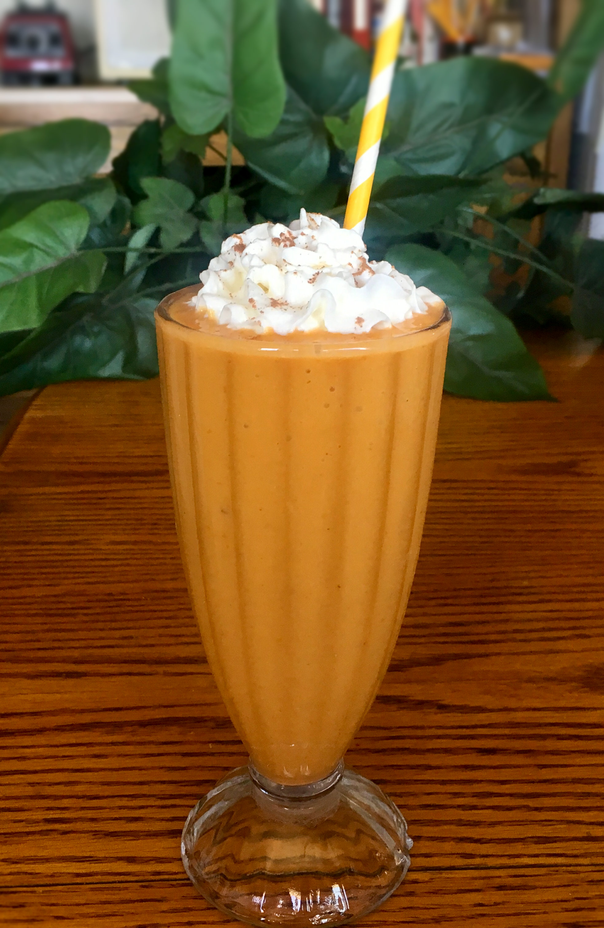 Sissy's Frozen Banana and Pumpkin Smoothie Yoly