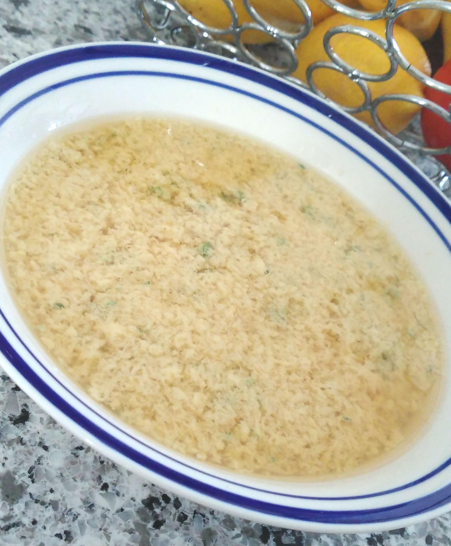 Stracciatella Soup Bren