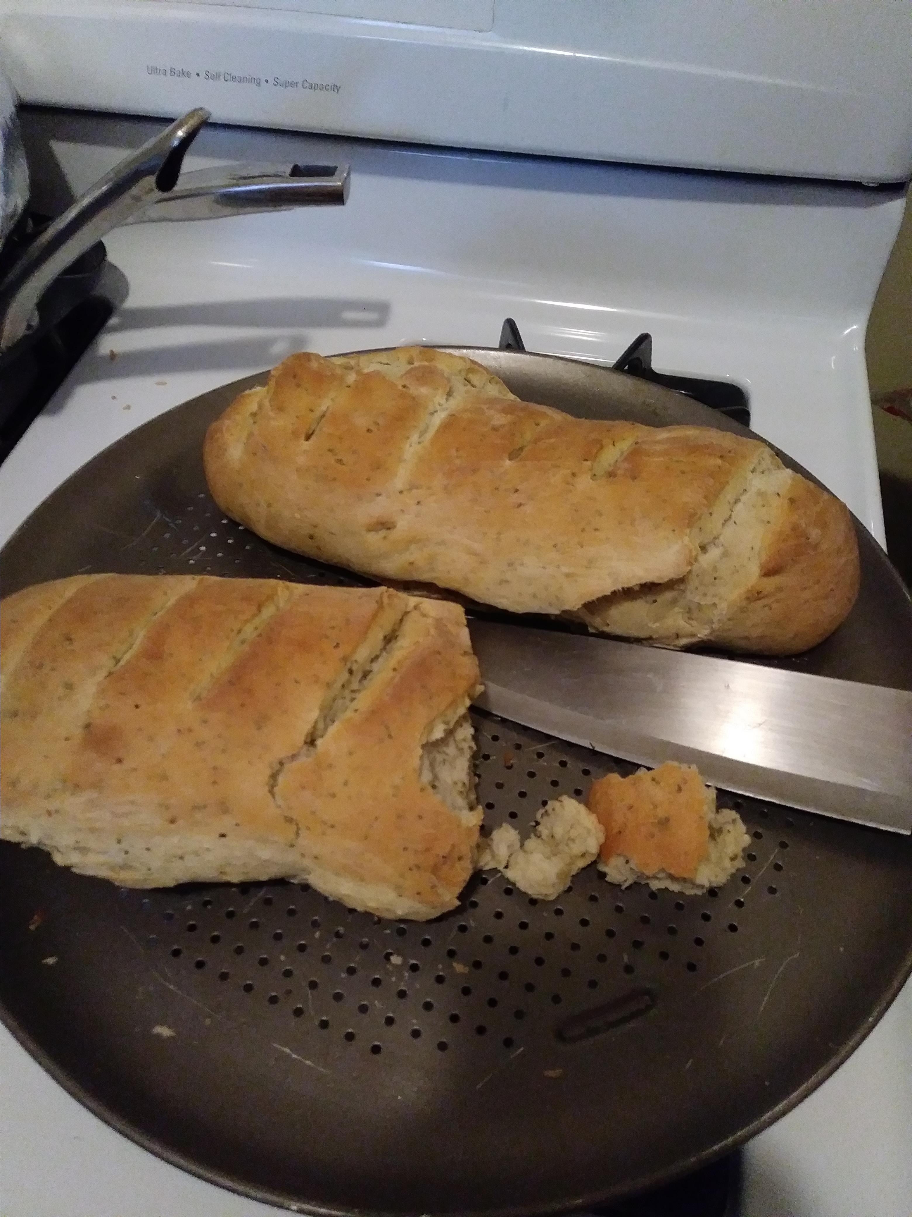 Italian Herb Bread I Irene Canucan