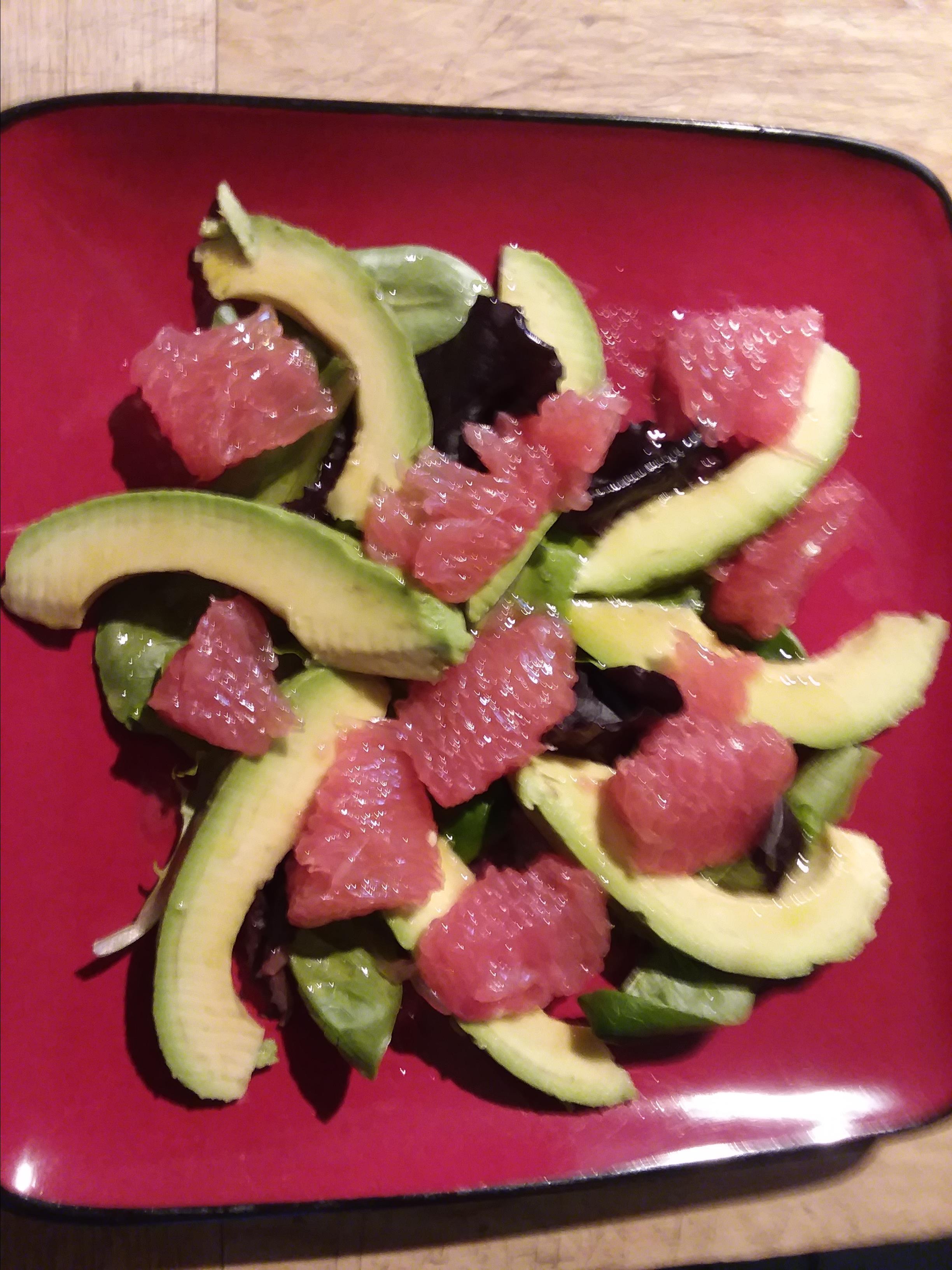 Grapefruit and Avocado Salad Barbara