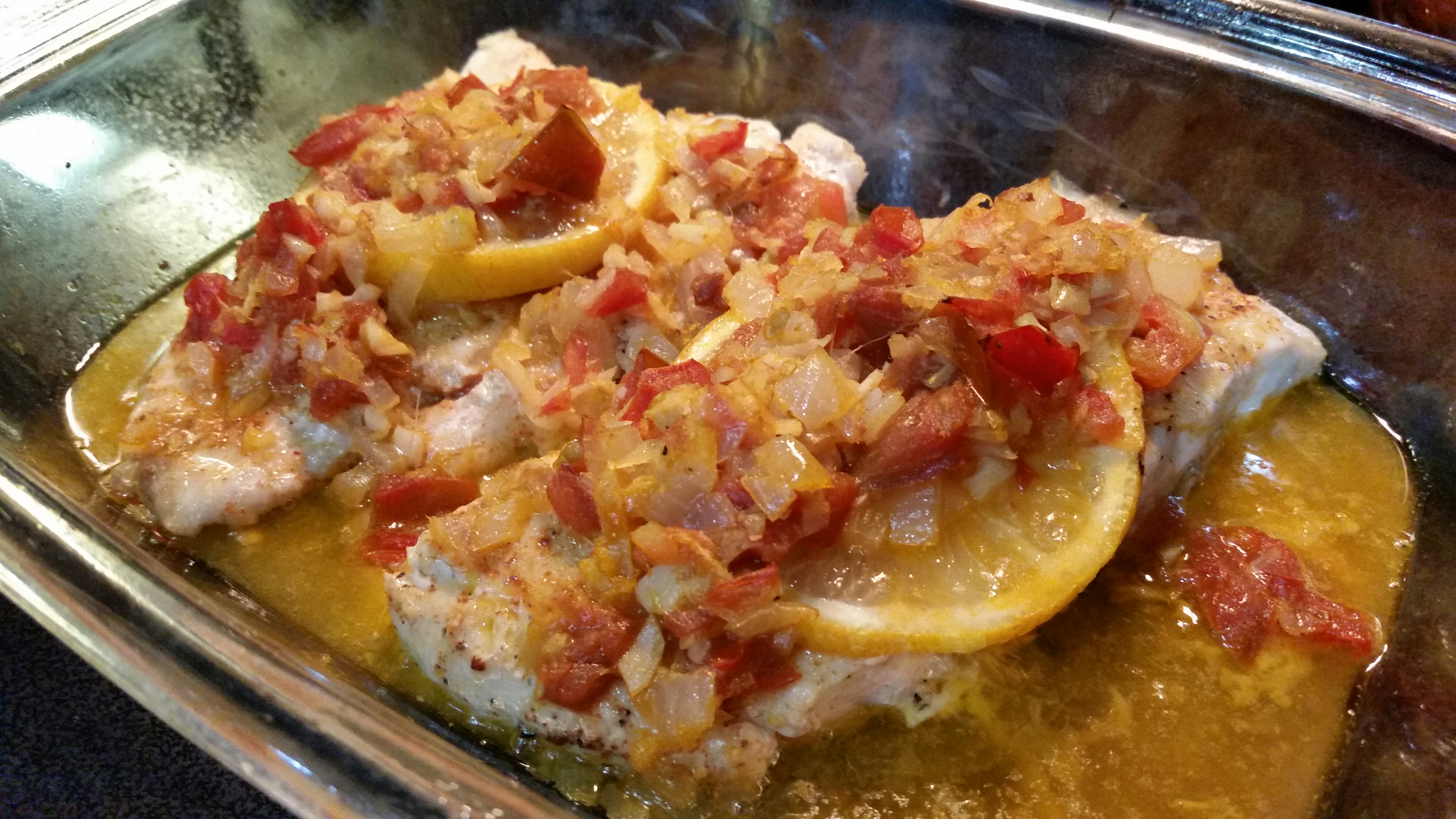 Red Snapper (Chinese-French Fusion)