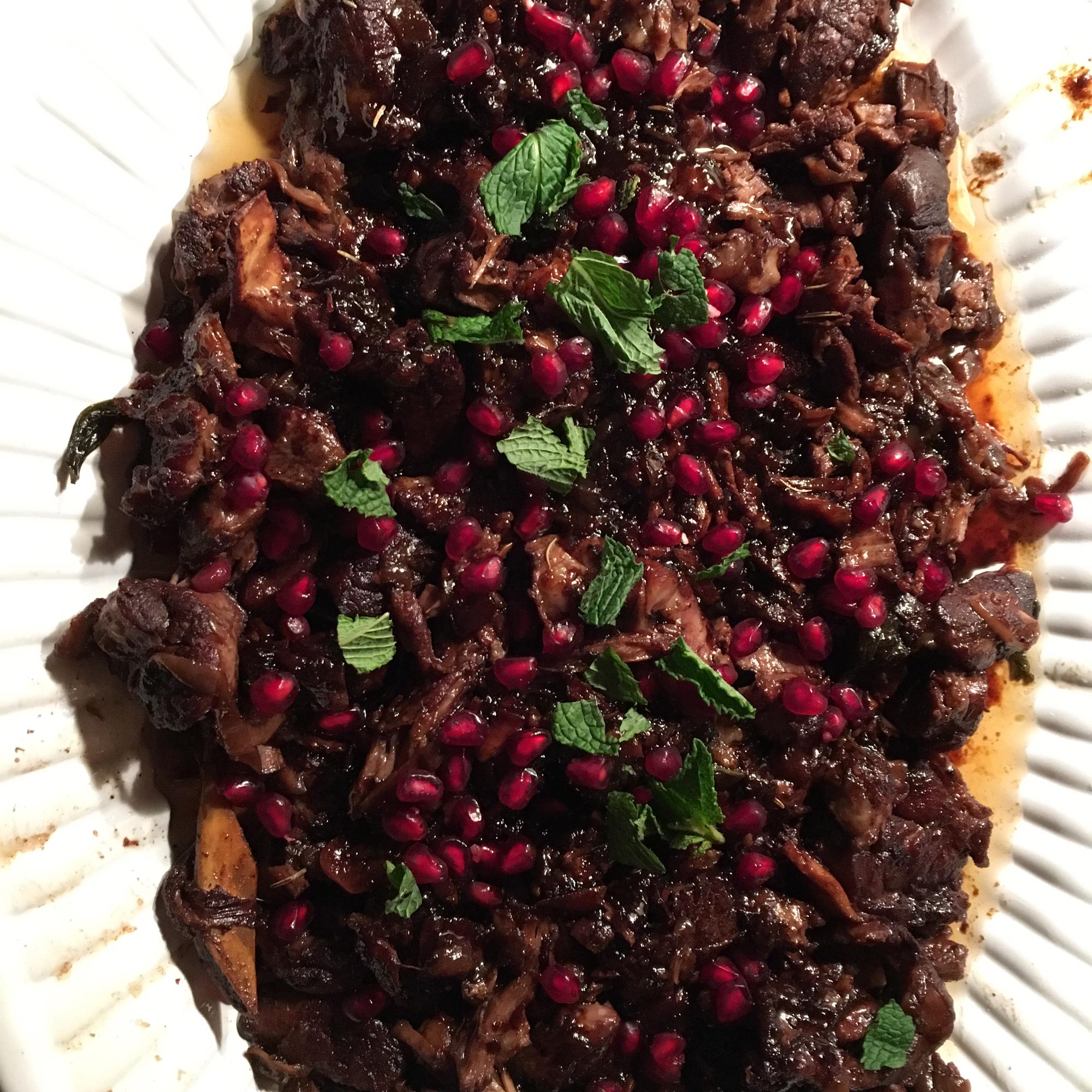 Lamb Braised in Pomegranate Danielle