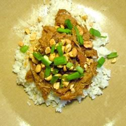 Slow Cooker Thai Pork with Rice LAGIRL