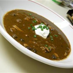 Pumpkin Black Bean Soup Kris(py)