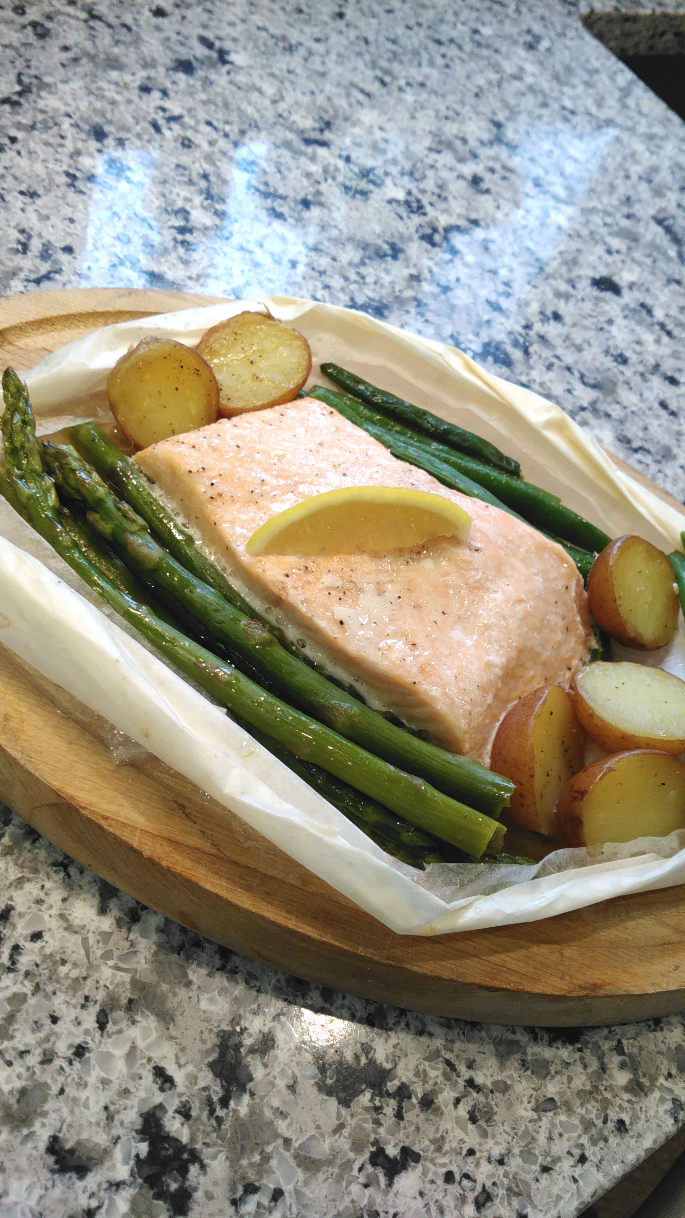 Chef John's Salmon in Parchment Bren