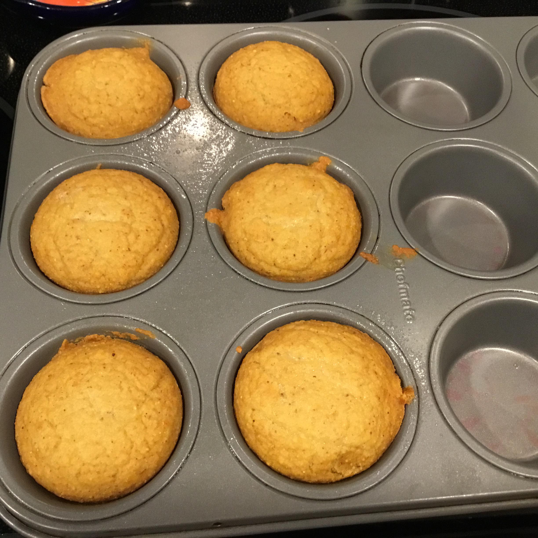 Vegan Agave Cornbread Muffins jessica