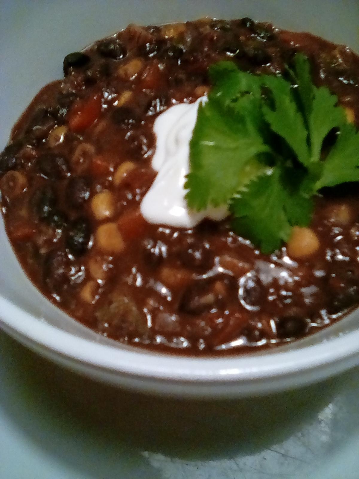 Black Bean Chili Daveyface