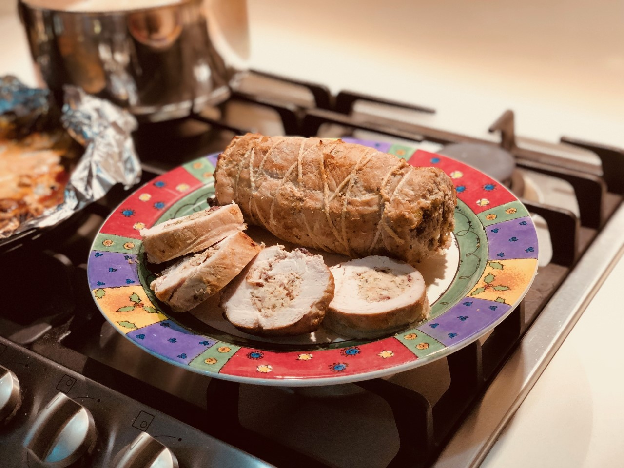 Stuffed and Rolled Pork Tenderloin Yeeli Lee