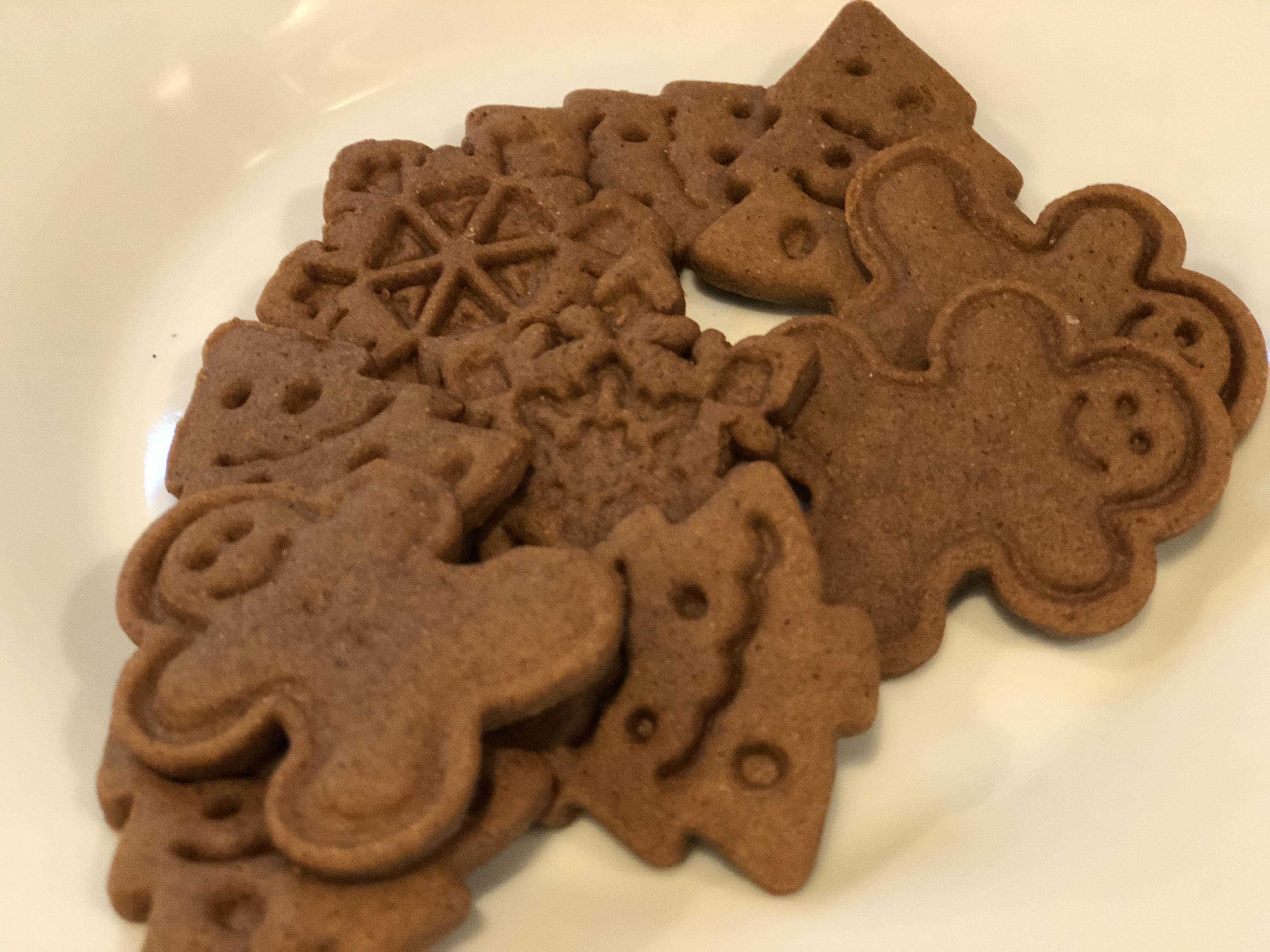 Easy Vegan Gingerbread Cookies