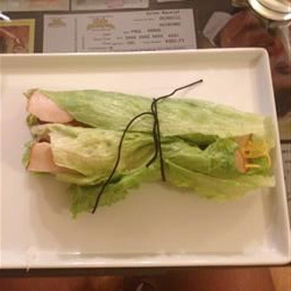 Low-Carb Bacon Lettuce Turkey Wraps