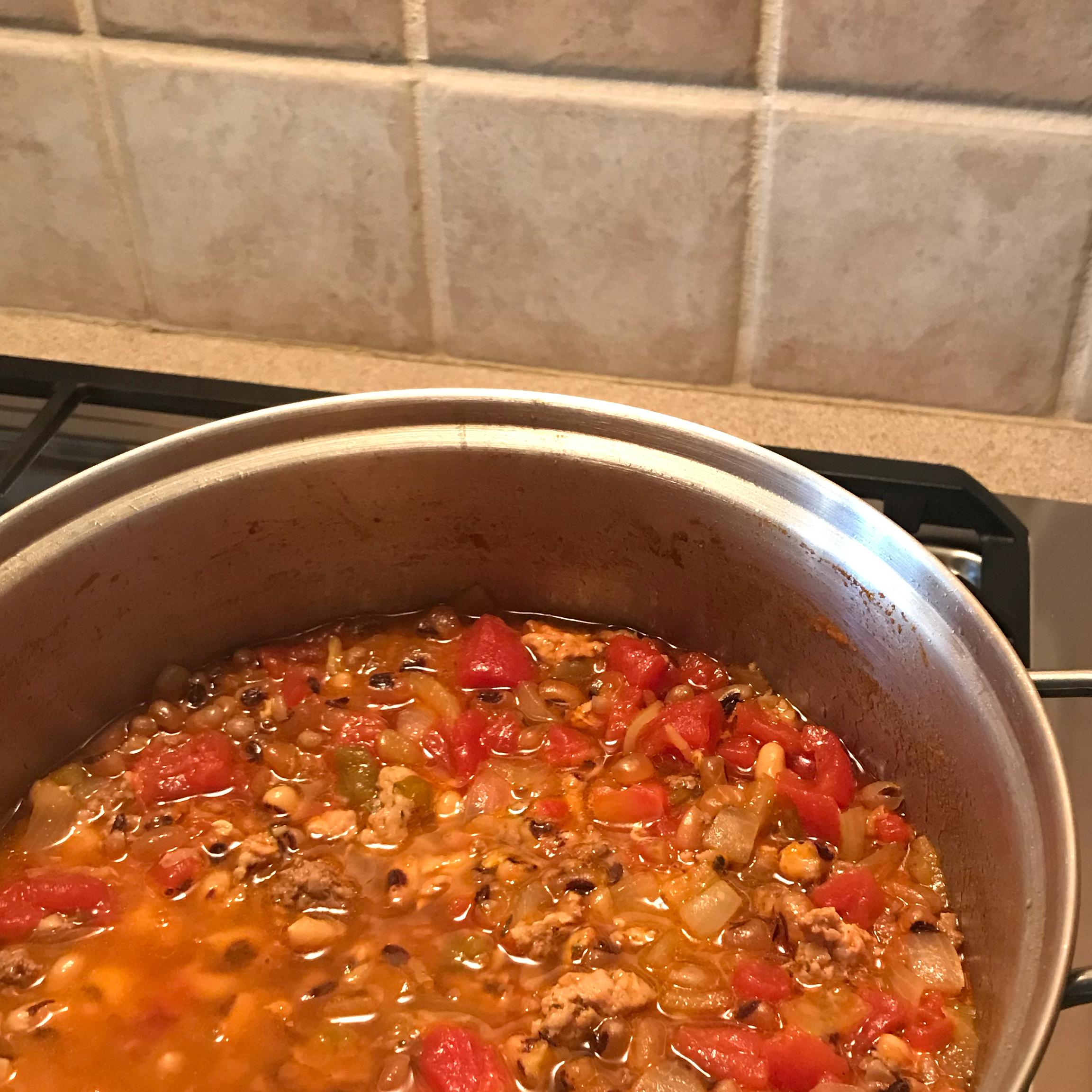 Black-Eyed Pea Soup