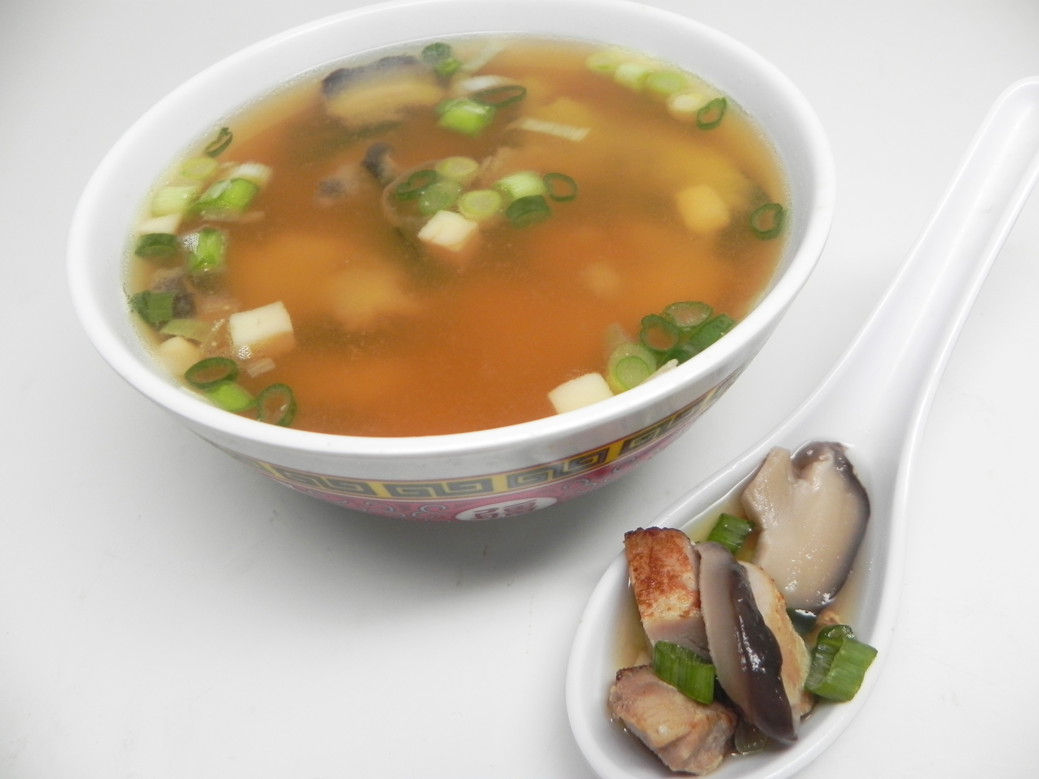 Miso, Chicken, and Green Onion Soup Soup Loving Nicole