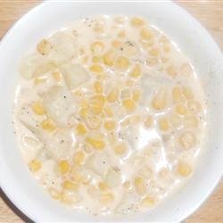 Southwest Style Creamy Corn Chowder