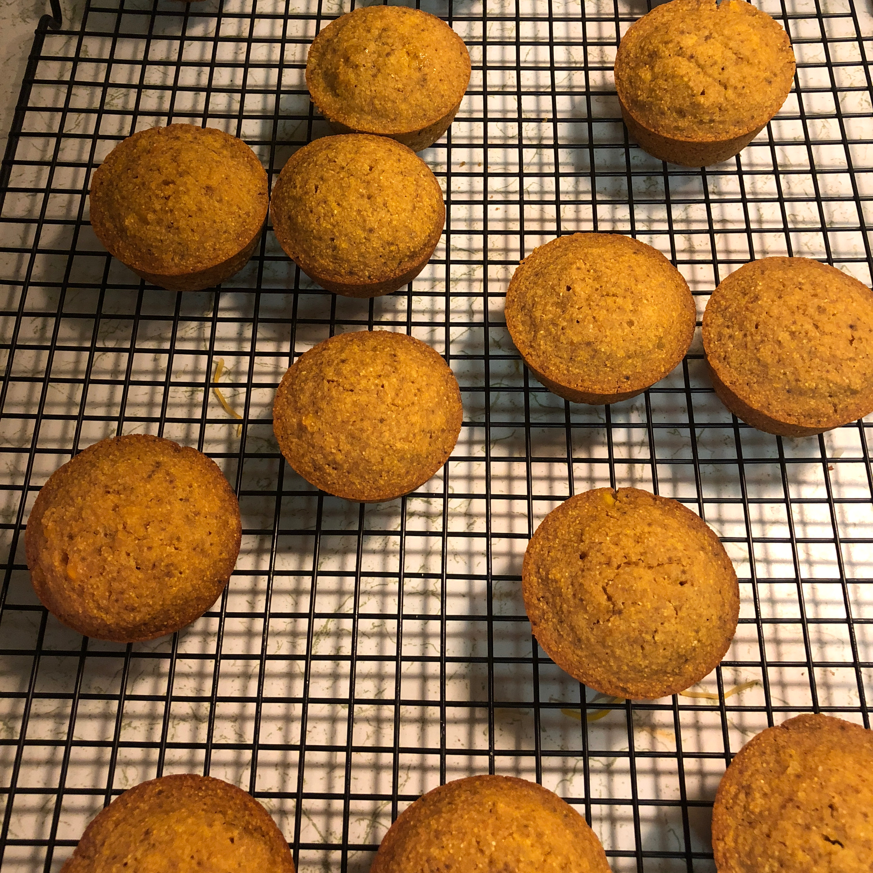 Vegan Agave Cornbread Muffins Suzanne Garay