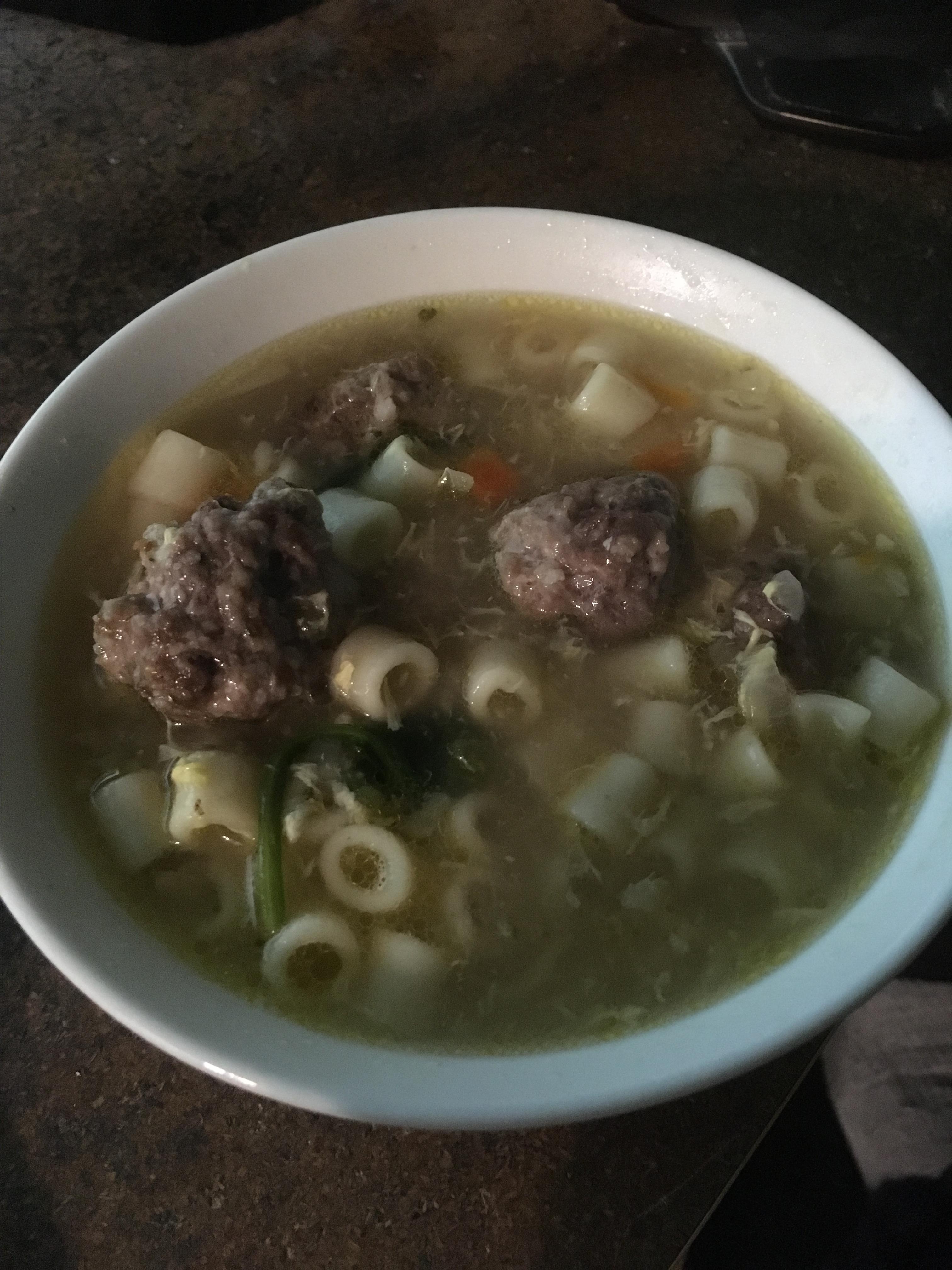 Mama's Italian Wedding Soup Ann Freele