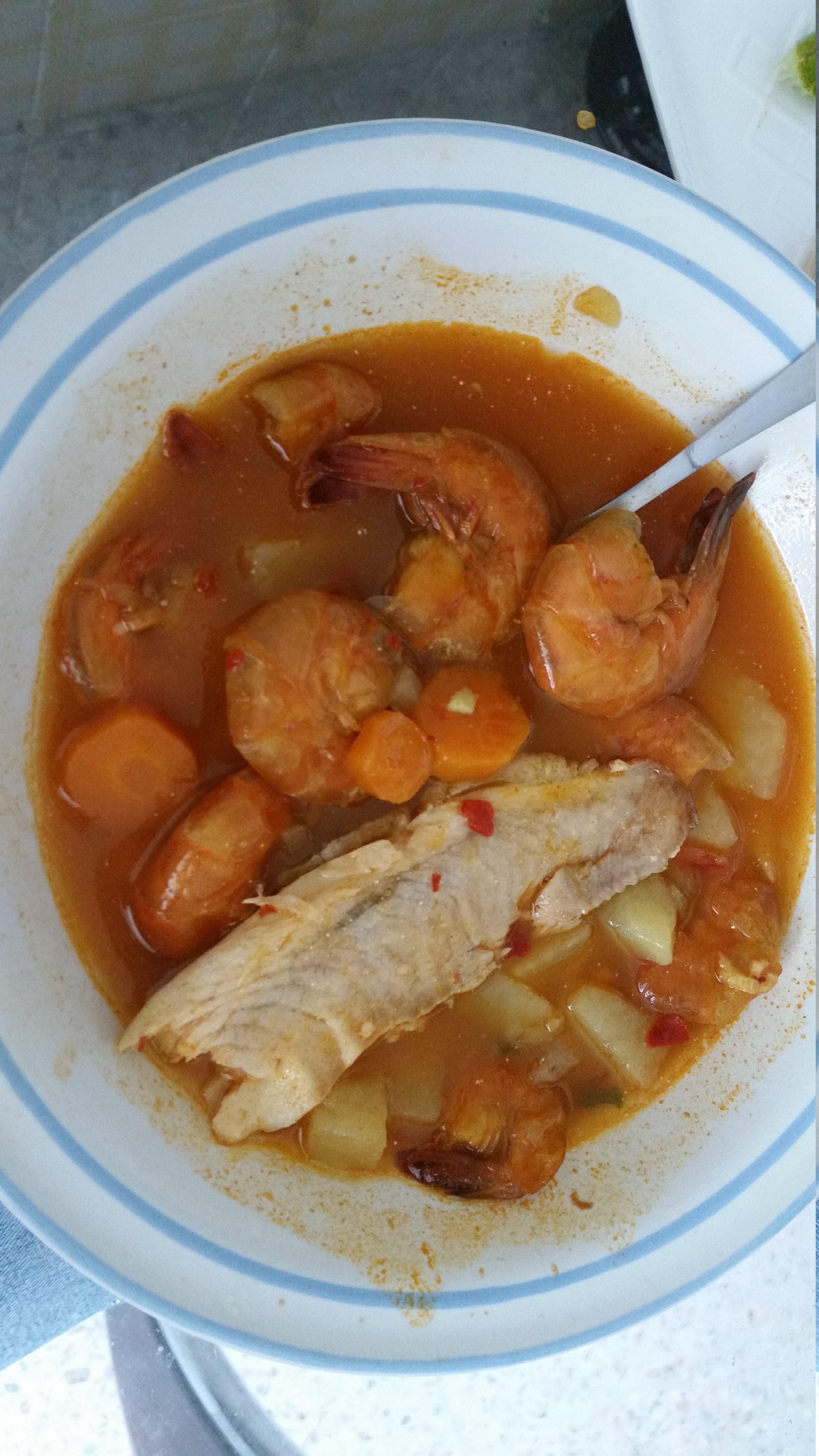 Mexican Shrimp Soup (Caldo de Camaron)