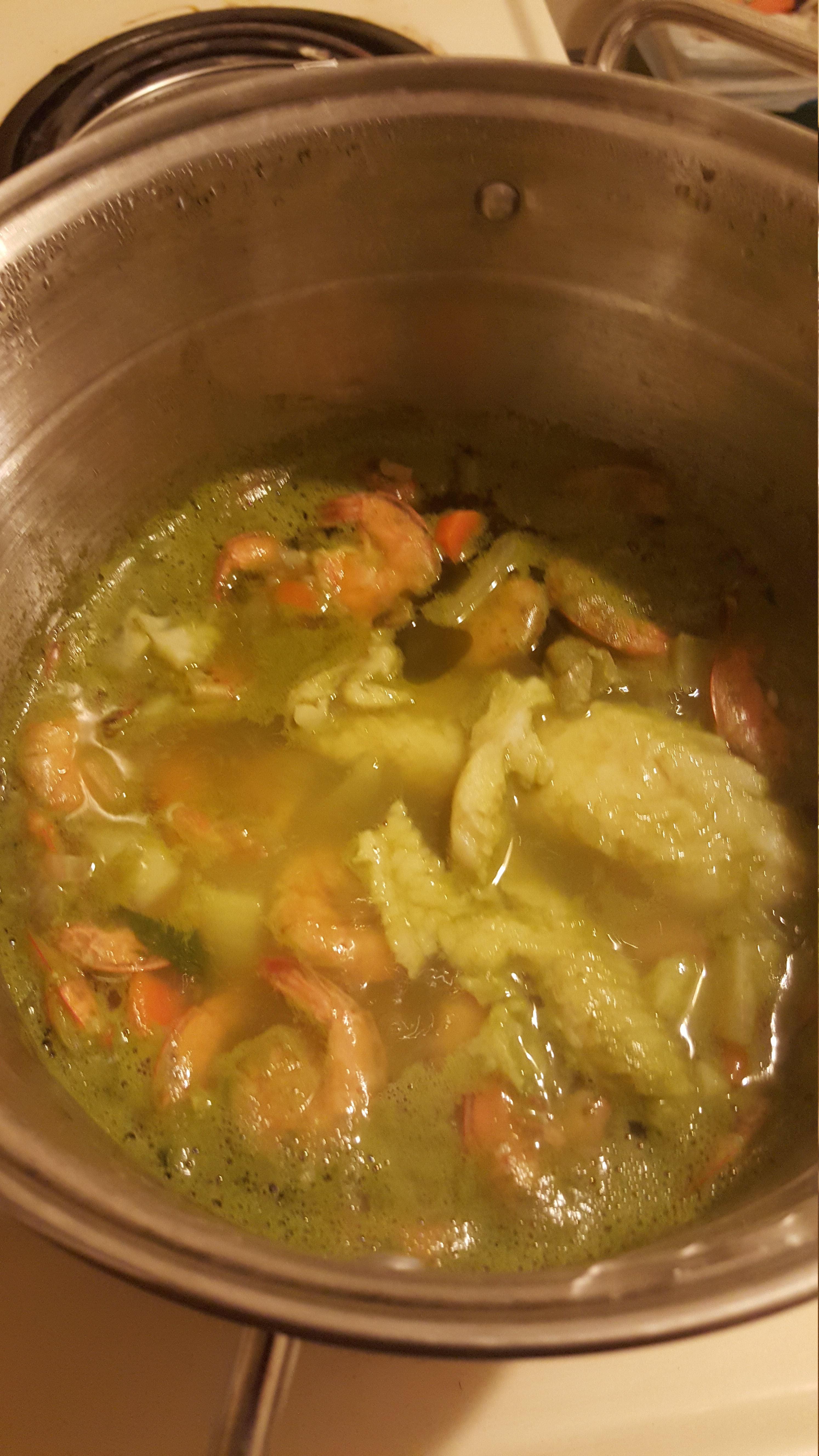 Mexican Shrimp Soup (Caldo de Camaron) AllrecipesPhoto