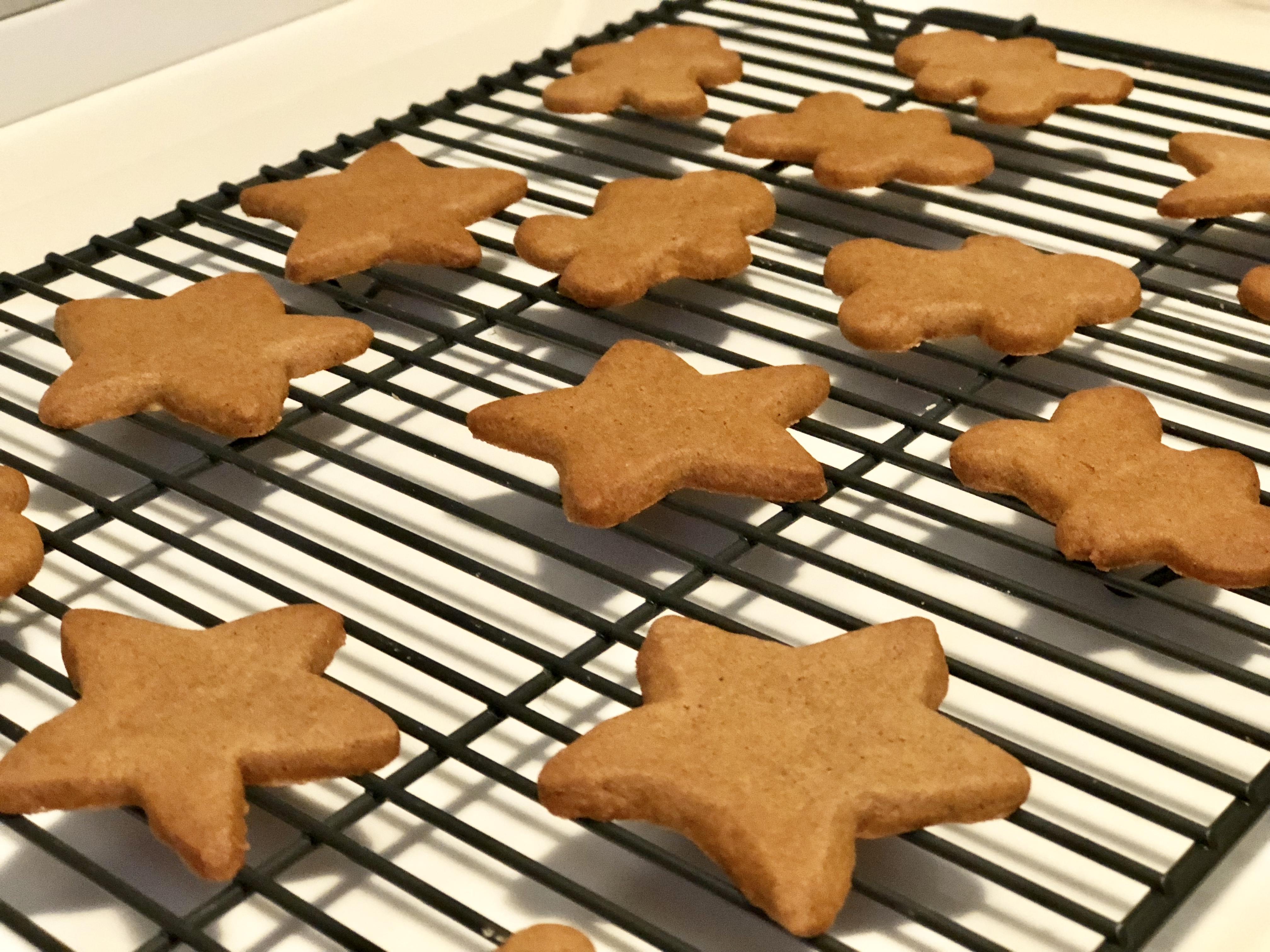 Gluten-Free Vegan Gingerbread Cookies Fioa