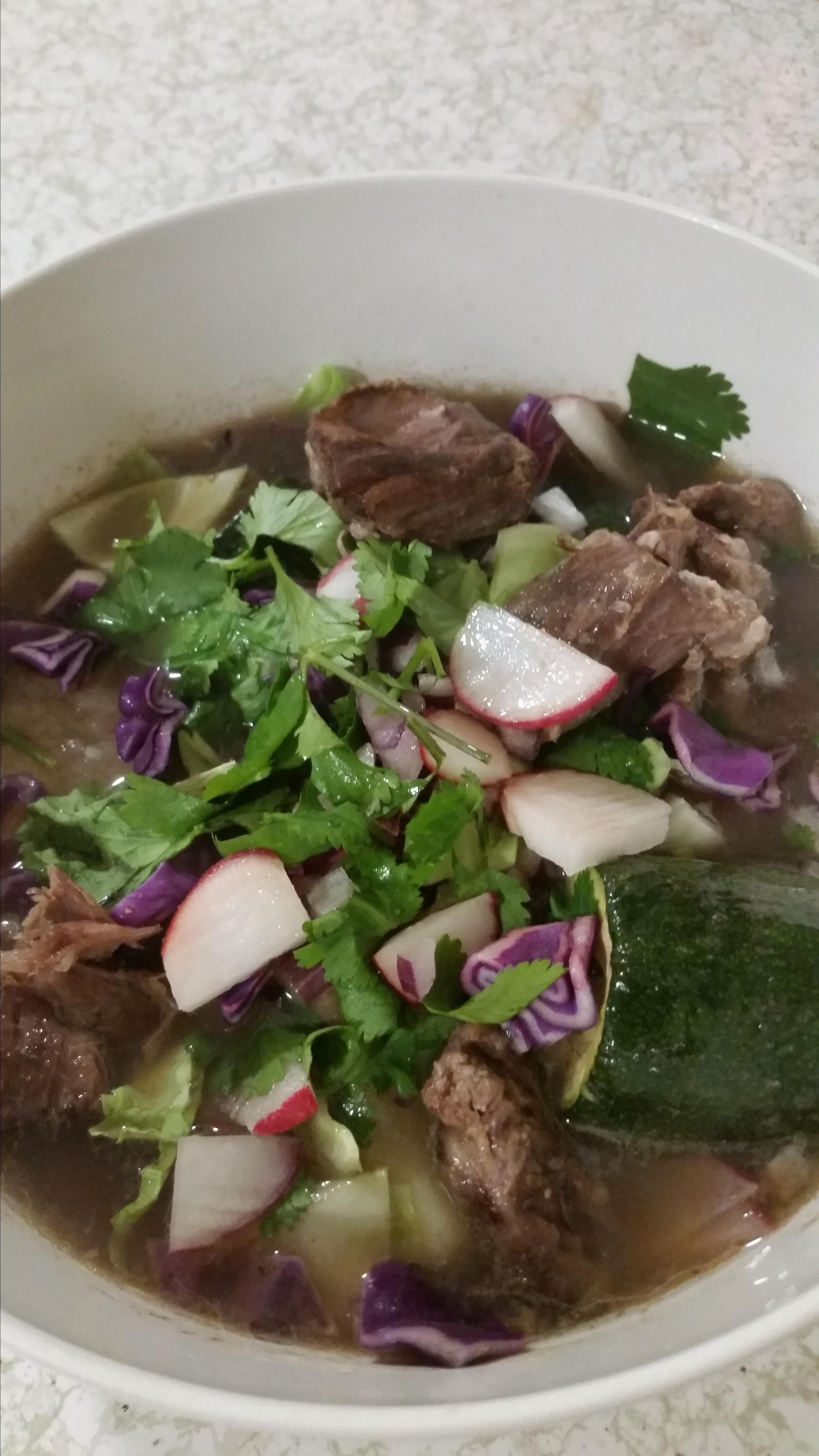 Caldo de Res (Mexican Beef Soup) Jessica Miles