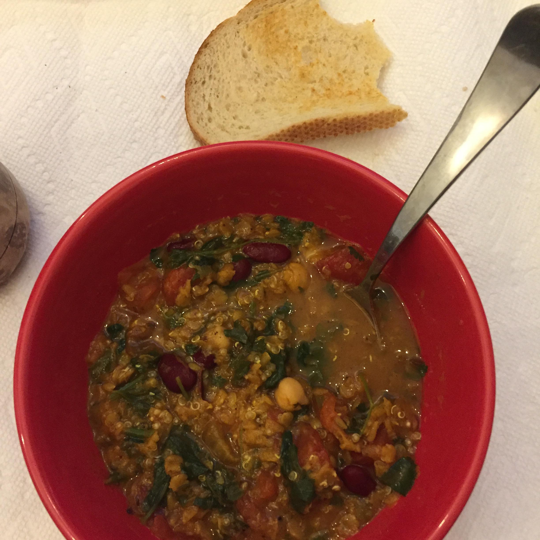 Moroccan Harira (Bean Soup) Kooky Kitty