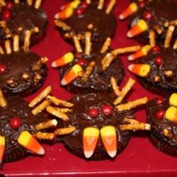 Spider Cupcakes Melanie Oakes