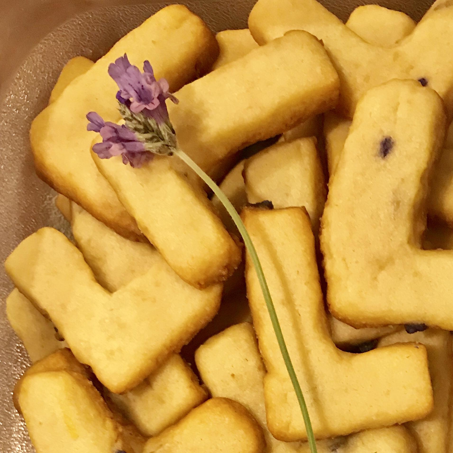 Lavender and Citrus Sugar Cookies