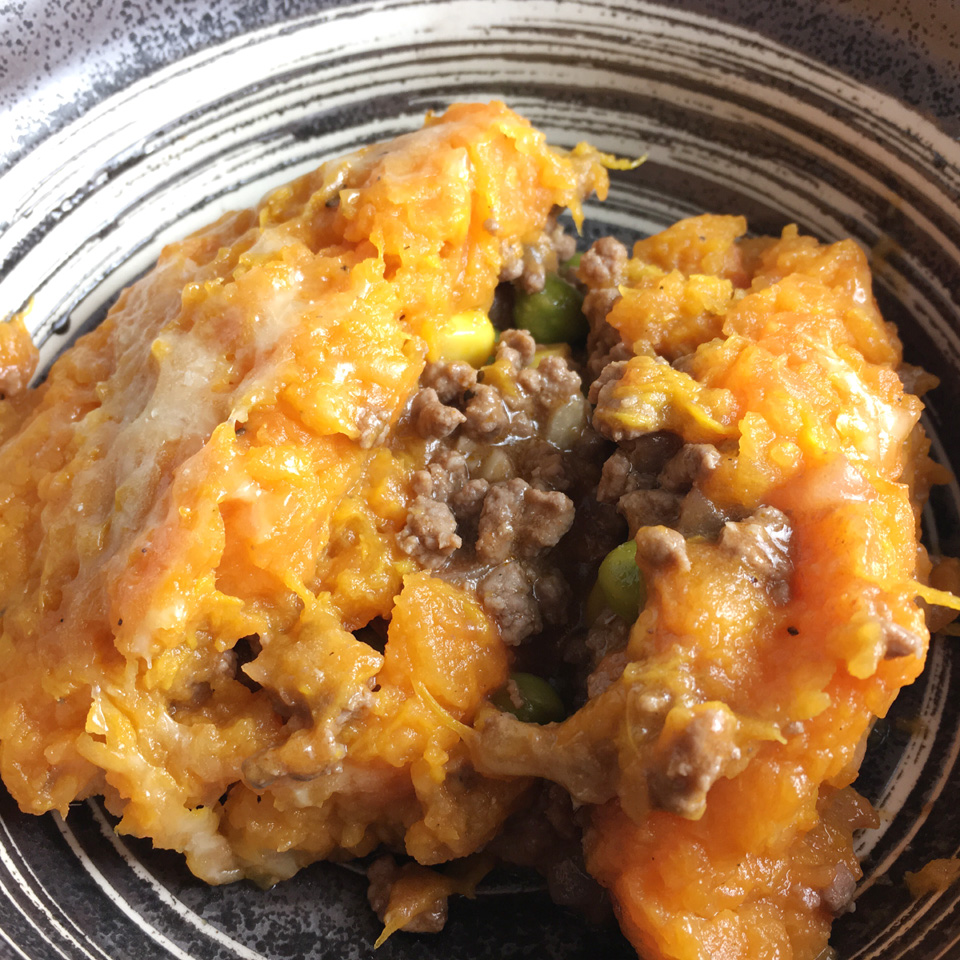 Sweet Potato-Cauliflower Shepherd's Pie