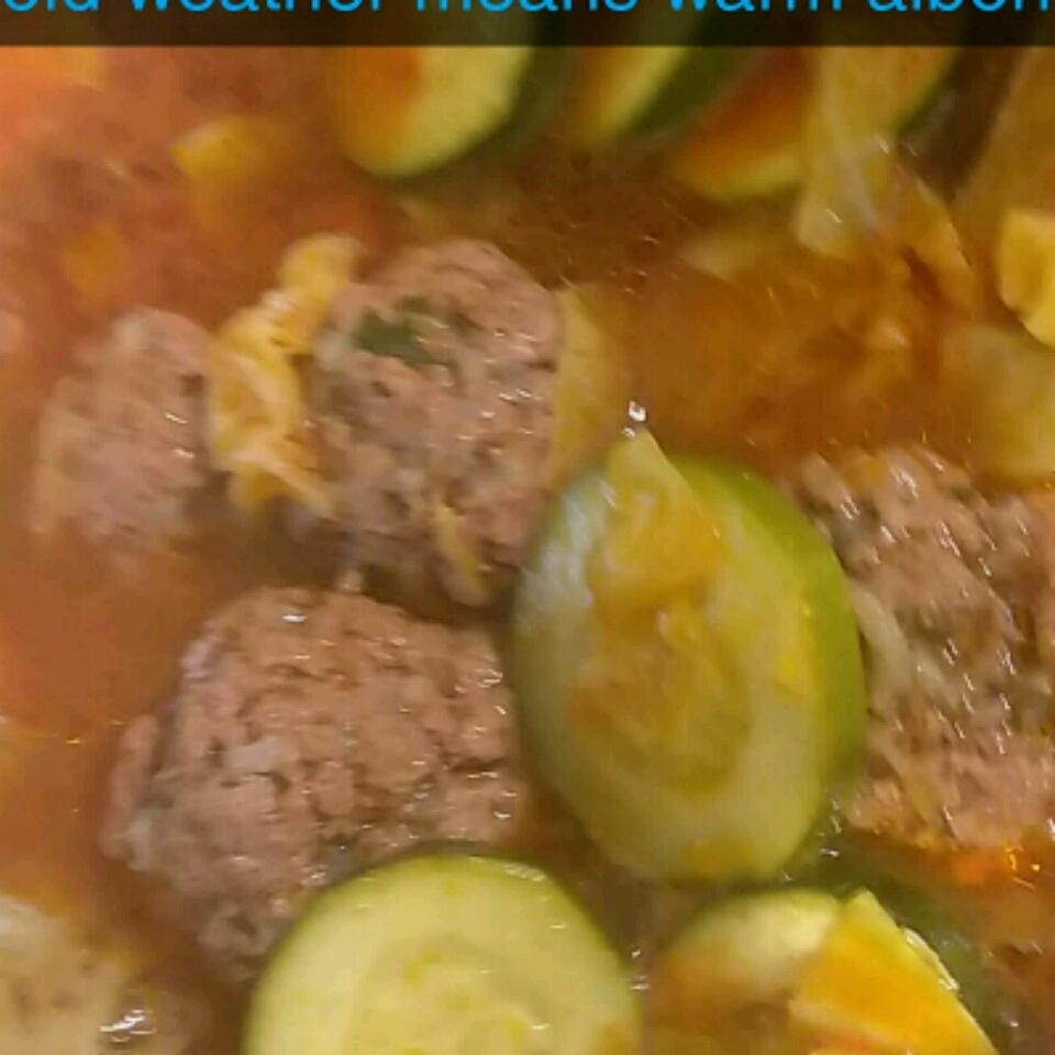 Mama's Old-Fashioned Albondigas (Meatball Soup)