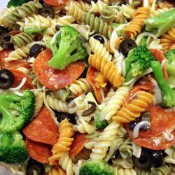 Rainbow Pasta Salad I MBKRH