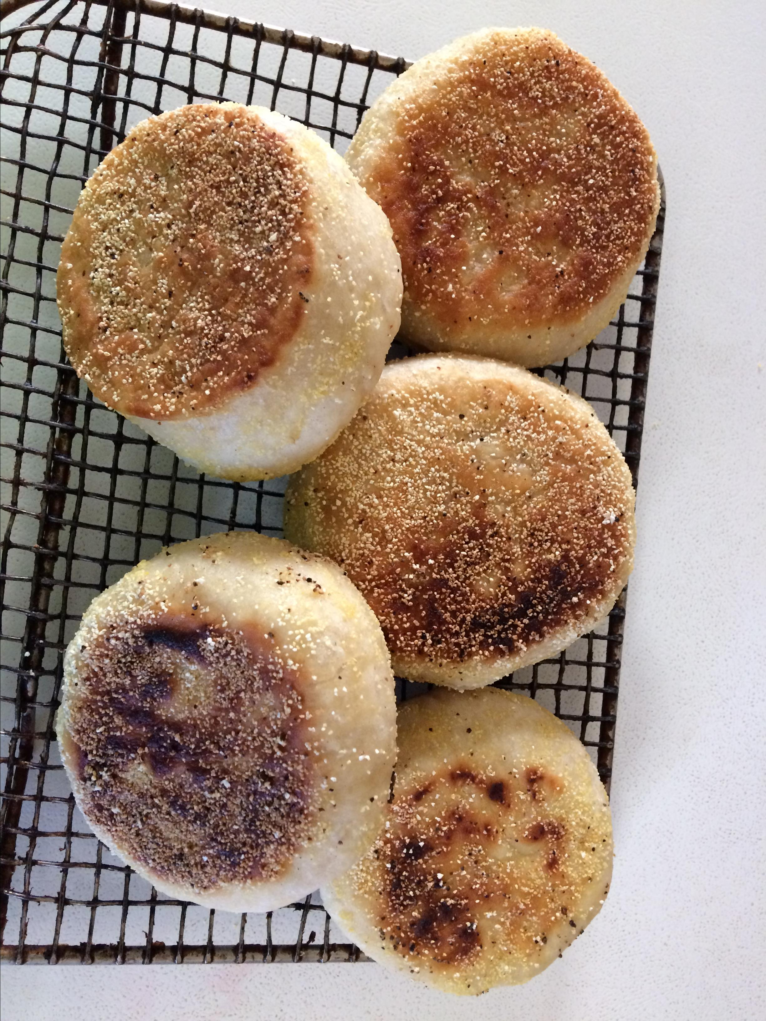 Easy English Muffins