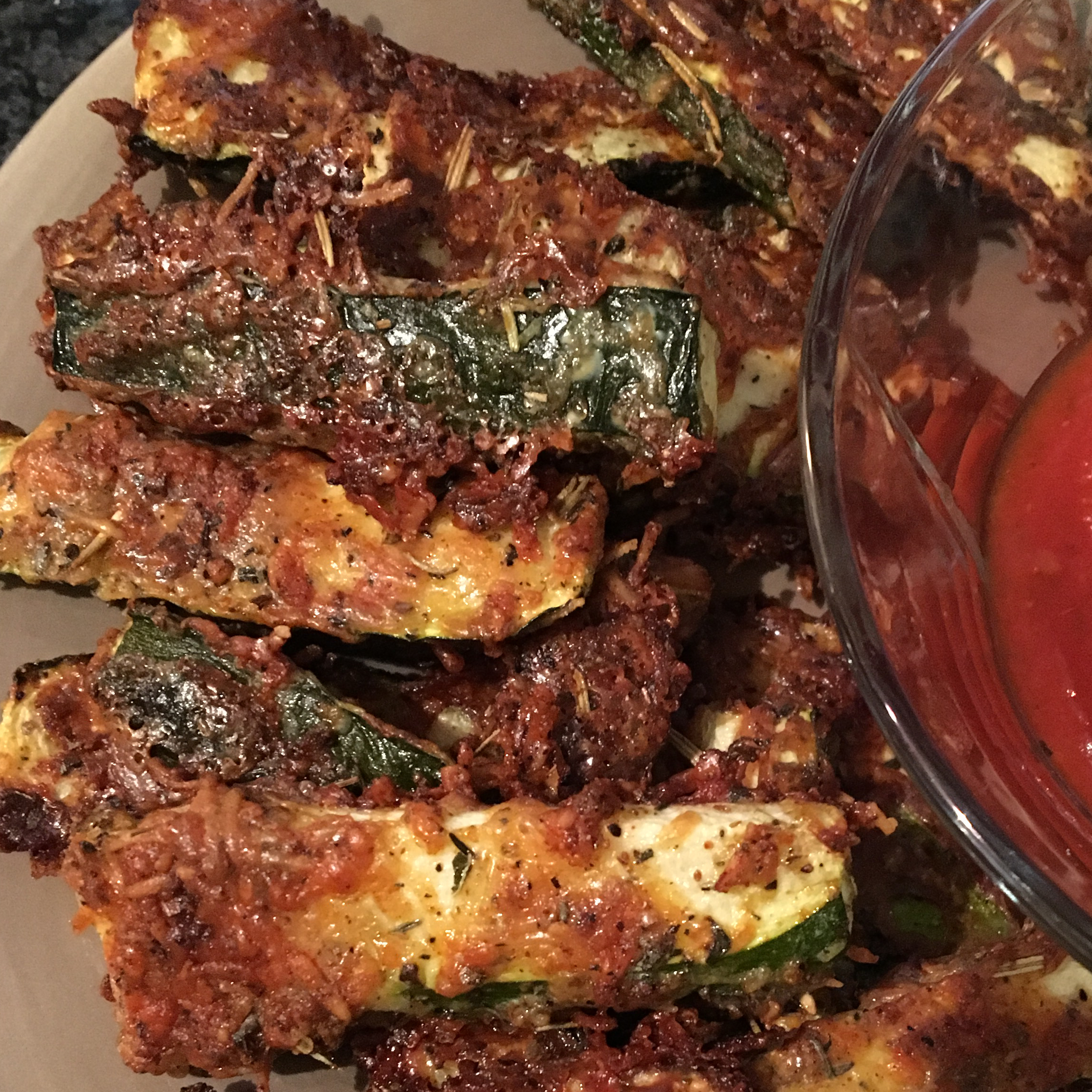 Quick and Easy Parmesan Zucchini Fries TSB0116