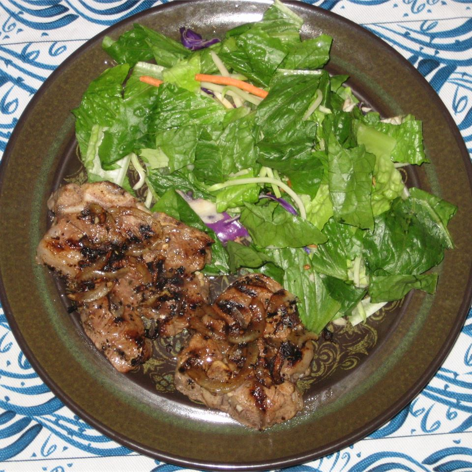 Simple Grilled Lamb Chops