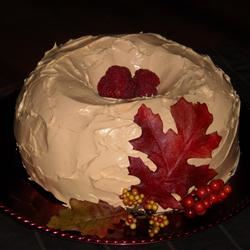 Autumn Pumpkin-Raspberry Bundt® Cake