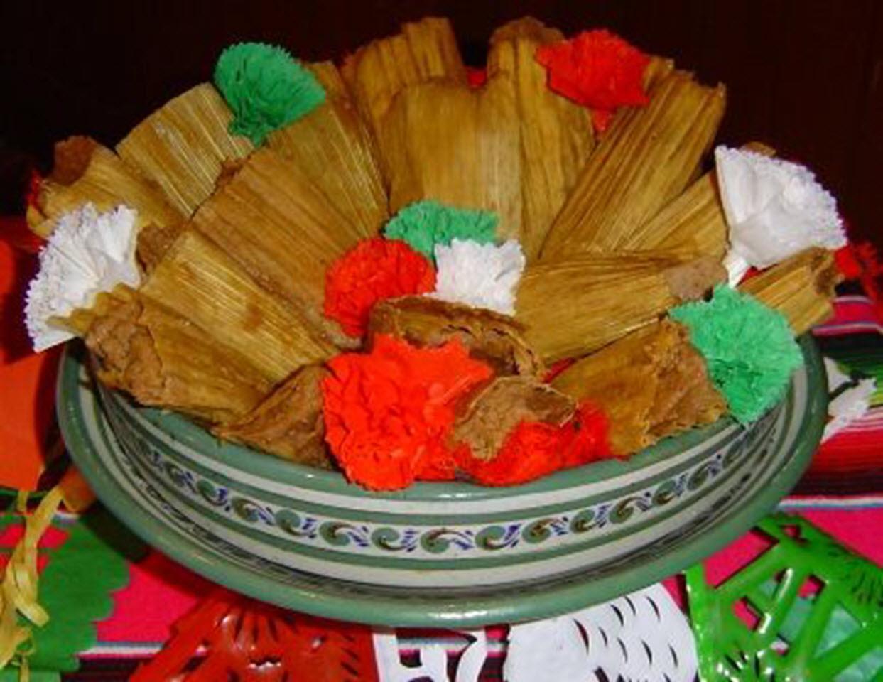 Bean Tamales (Tameles de Frijoles)