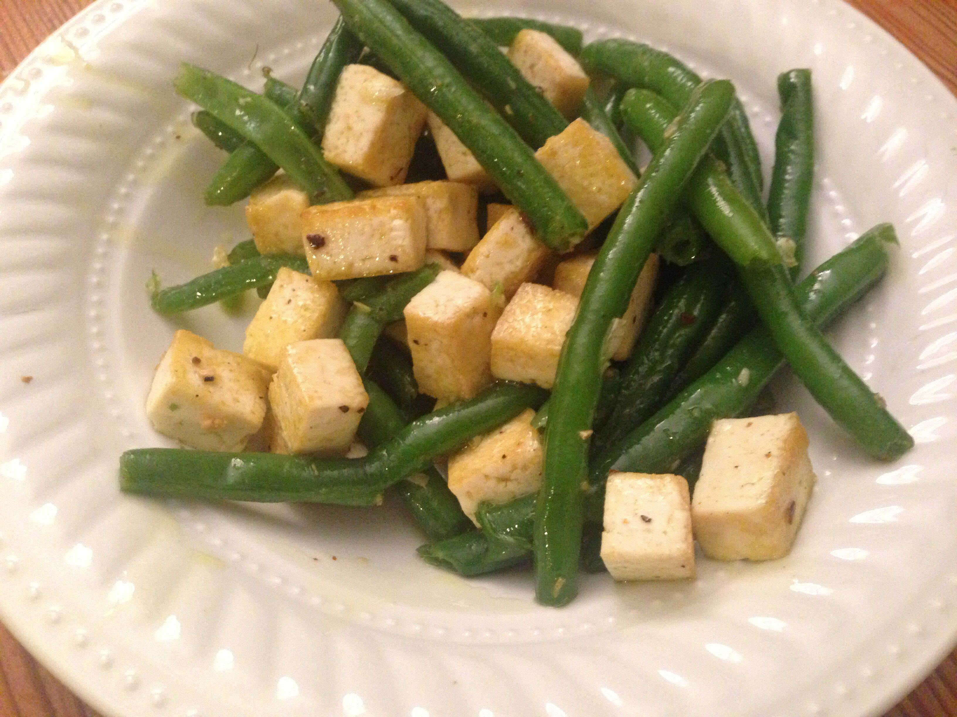 Green Beans and Tofu Ursel