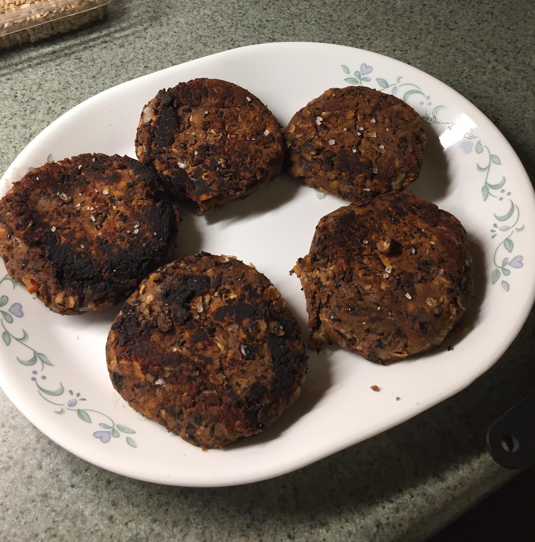 Sweet Potato Black Bean Burgers Amy