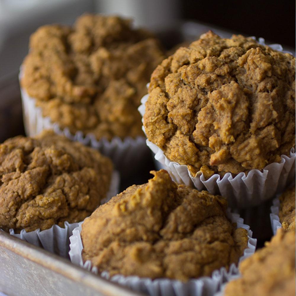 Delicious Vegan Pumpkin Muffins