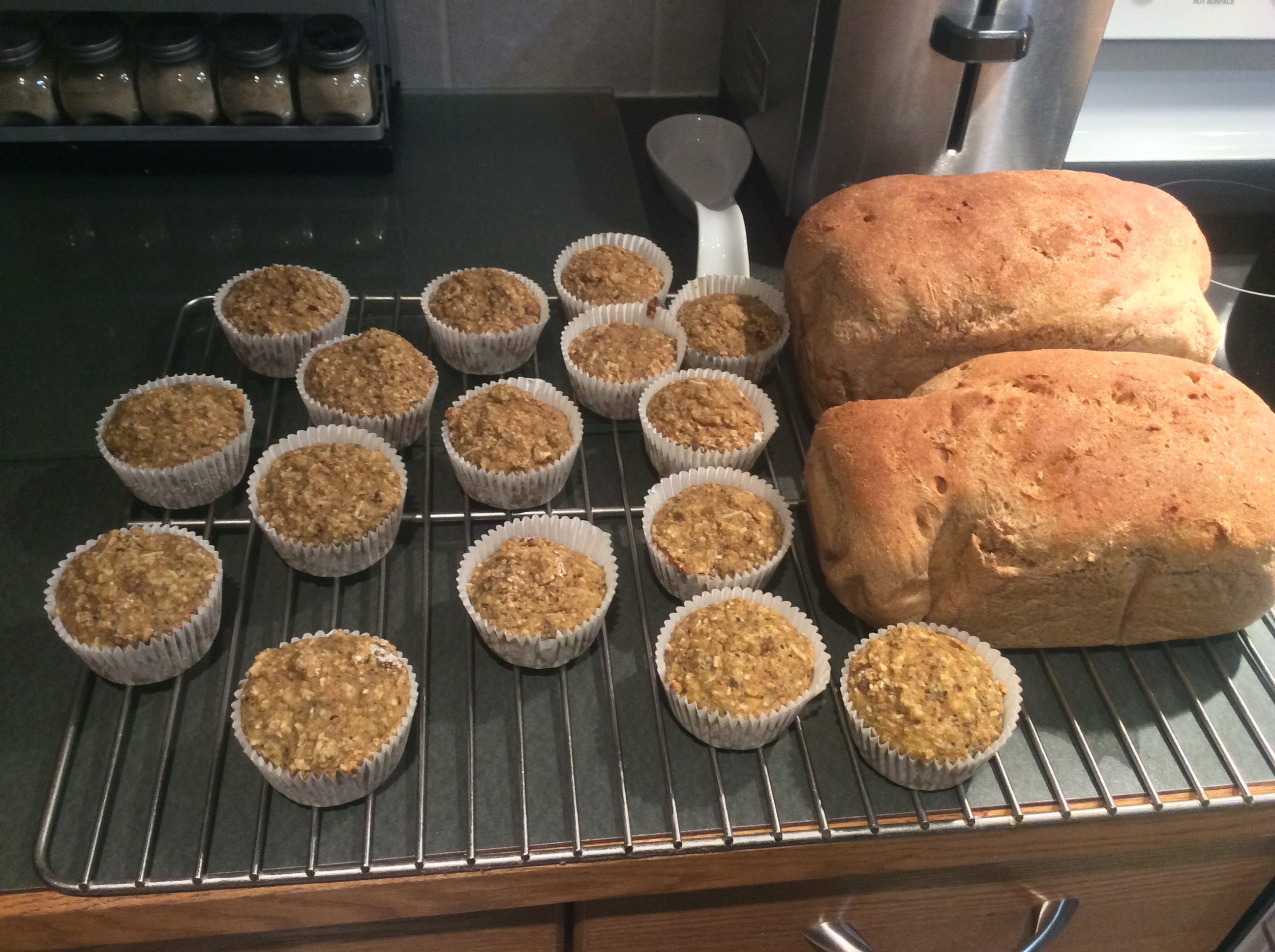 Poppy Seed and Banana Muffins destiny