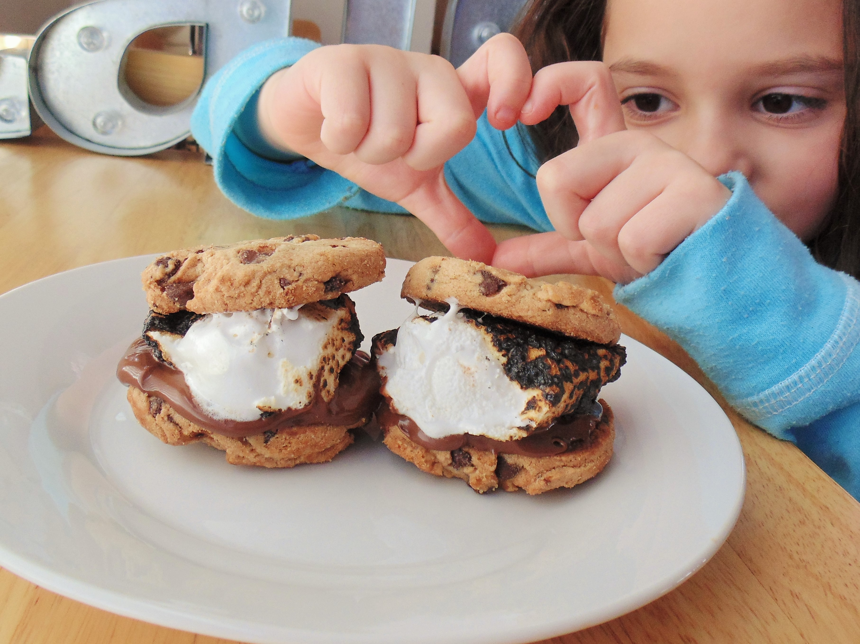 """""""S'mores are a way of life for my family. We are always looking for a new way to enjoy them while camping. This variation is one of our favorites,"""" says recipe creator Faith. """"If you have a sweet tooth for chocolate and an average s'more just won't cut it, this one definitely will!"""""""