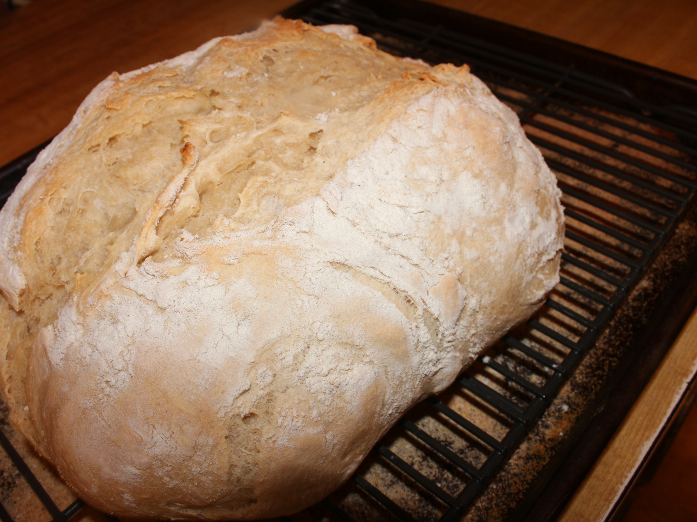 No Knead Beer Bread