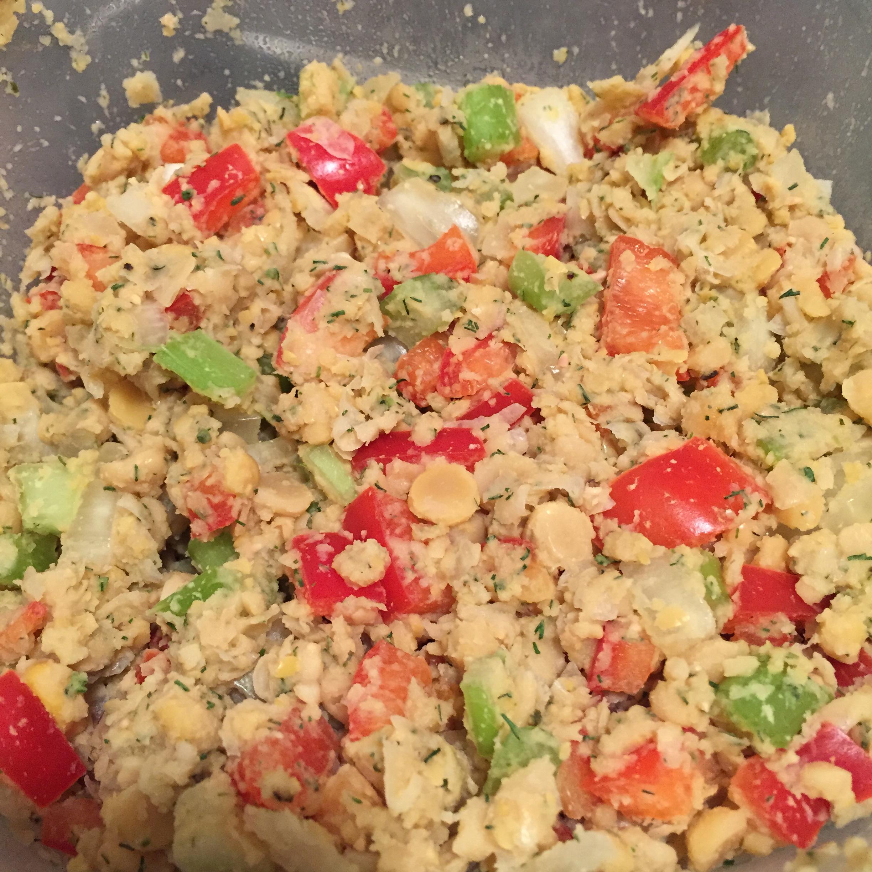 Vegetarian Chickpea Sandwich Filling Kadin Vanden Heuvel