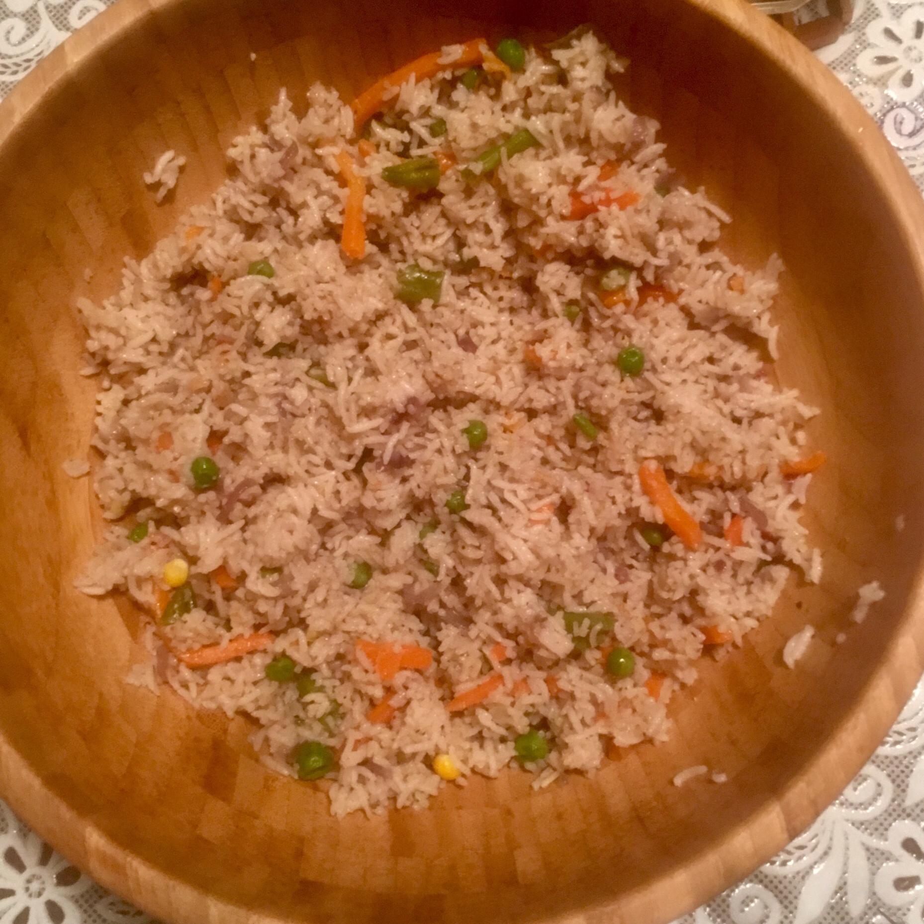 Indian Vegetable Rice Emil Robert Mitrache