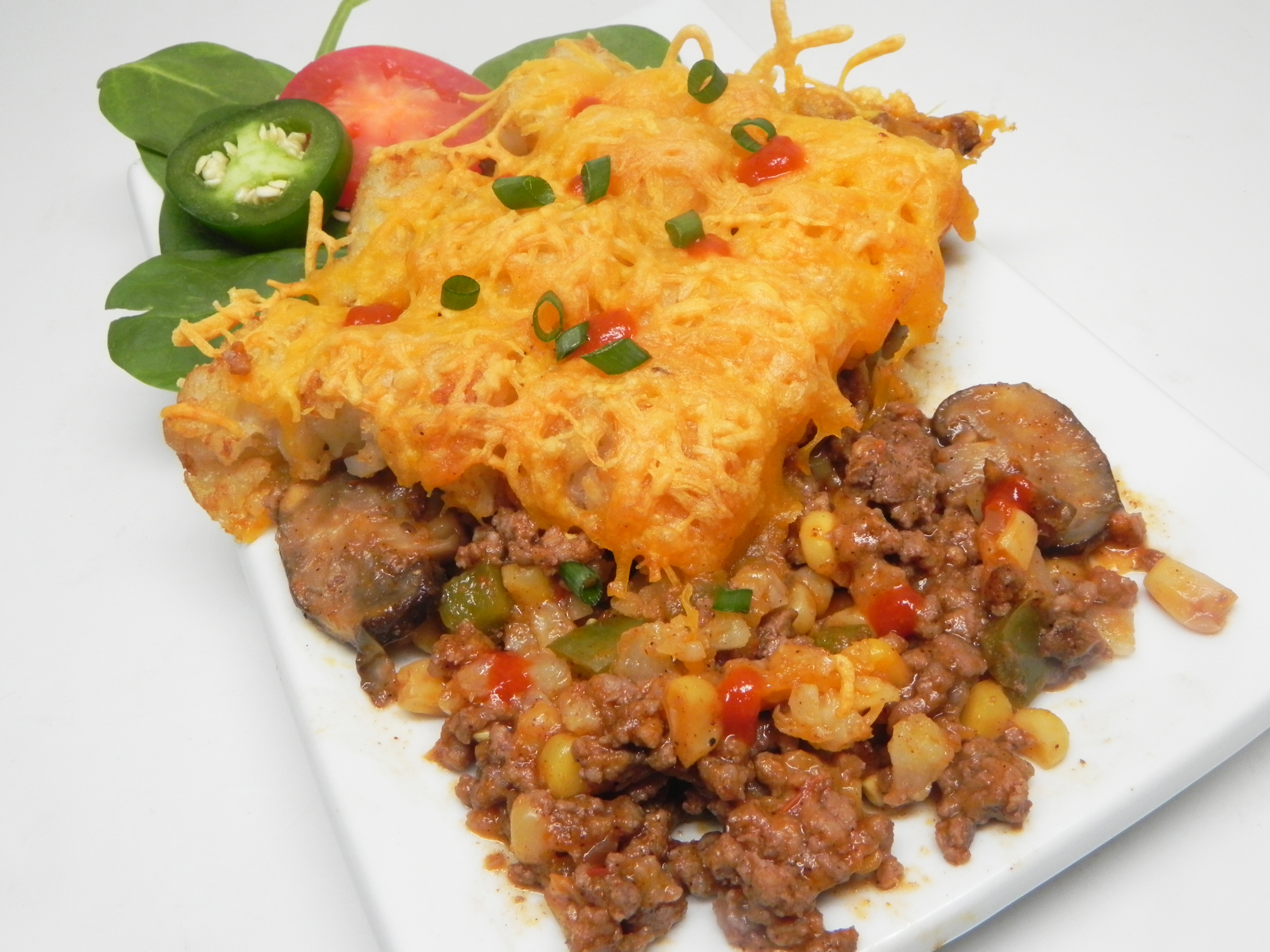 Mexican Tater Tot® Casserole