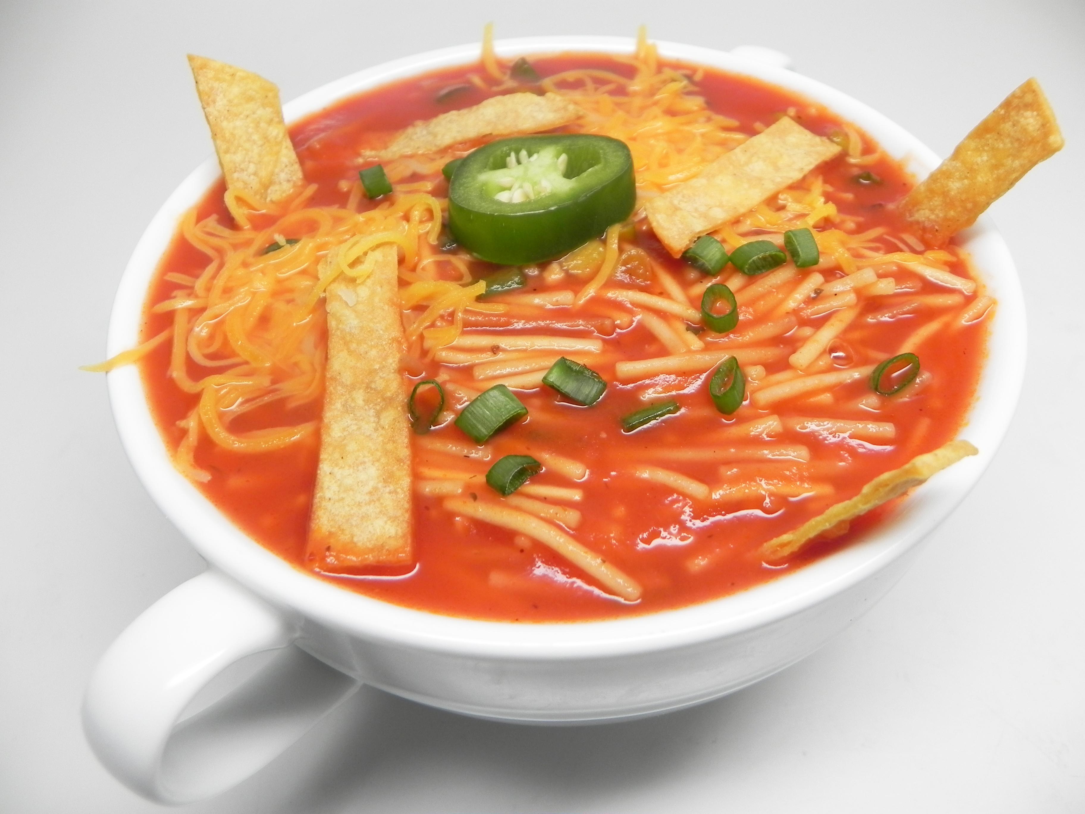 """""""Dry"""" Mexican Noodle Soup (Sopa Seca de Fideos)"""