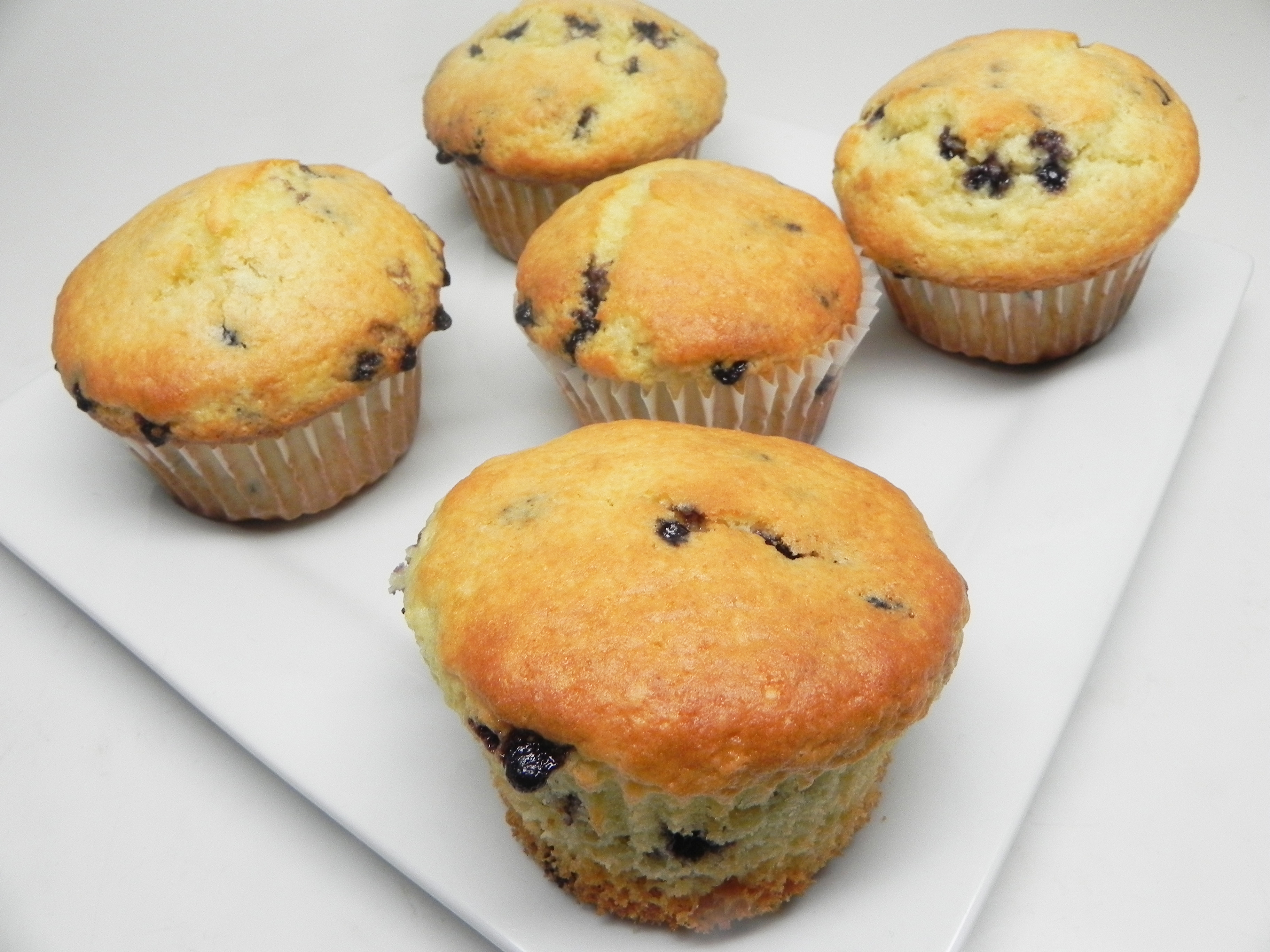 Vegan Blueberry Muffins with Applesauce Soup Loving Nicole