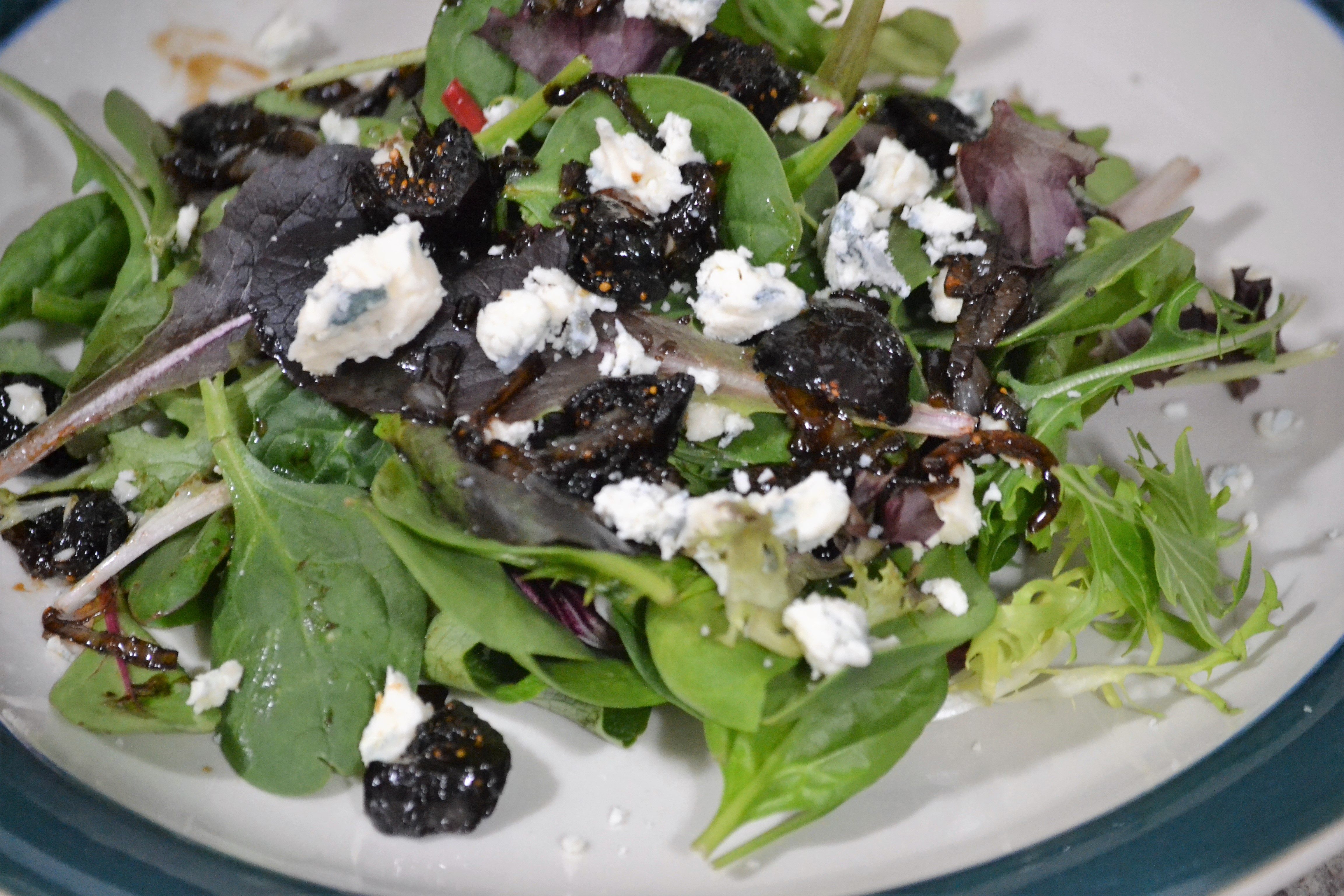 Ellen's Spinach and Fig Salad