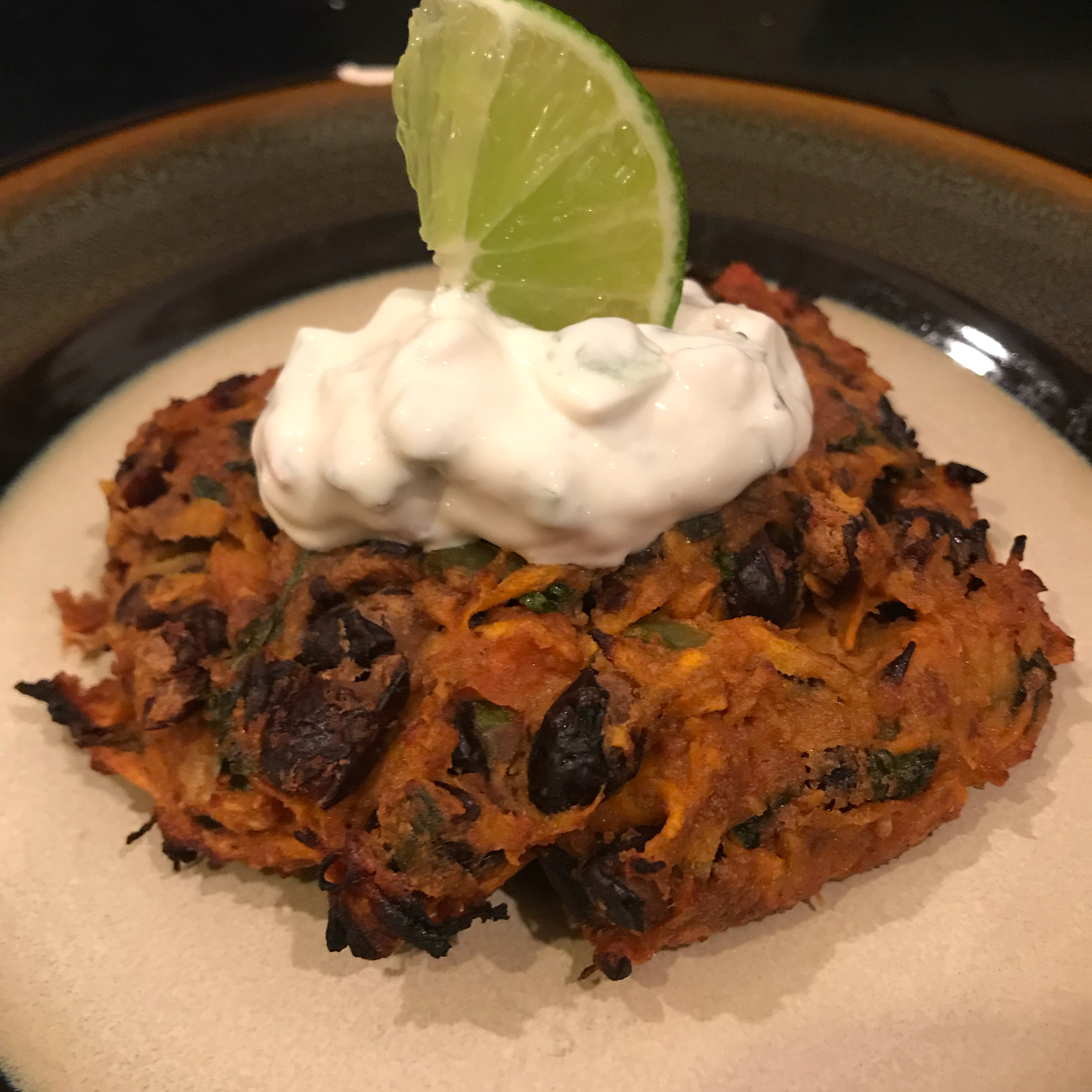 Spicy Black Bean Cakes Mike B.
